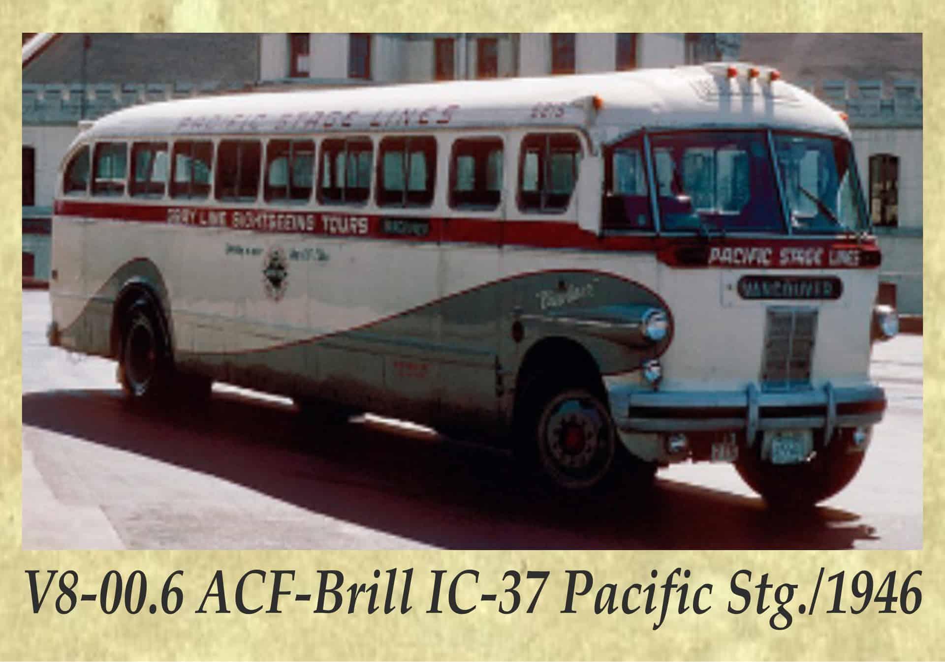 V8-00.6 ACF-Brill IC-37 Pacific Stg._1946