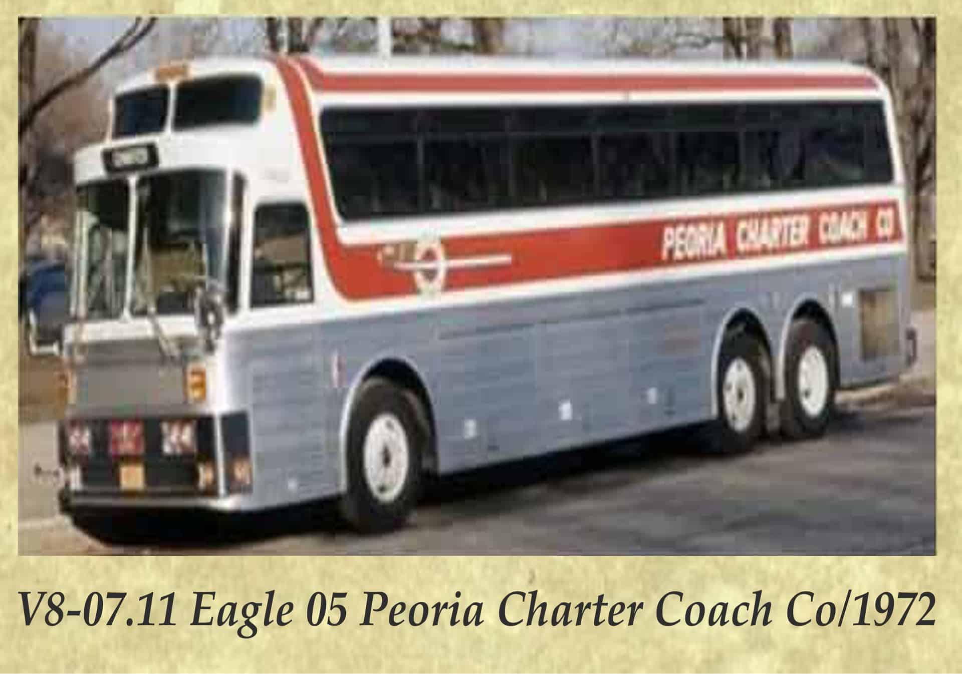 V8-07.11 Eagle 05 Peoria Charter Coach Co 1972