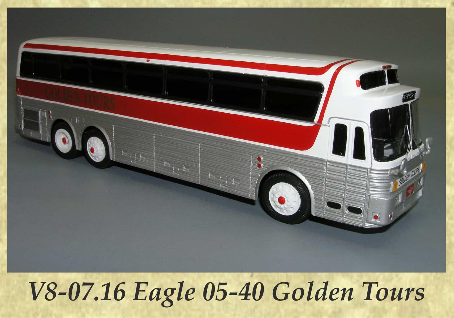V8-07.16 Eagle 05-40 Golden Tours