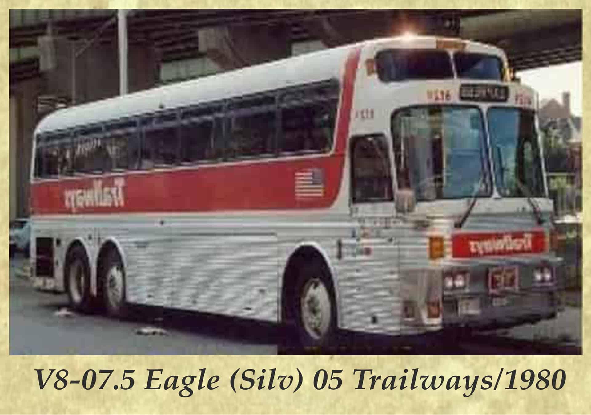 V8-07.5 Eagle (Silv) 05 Trailways 1980