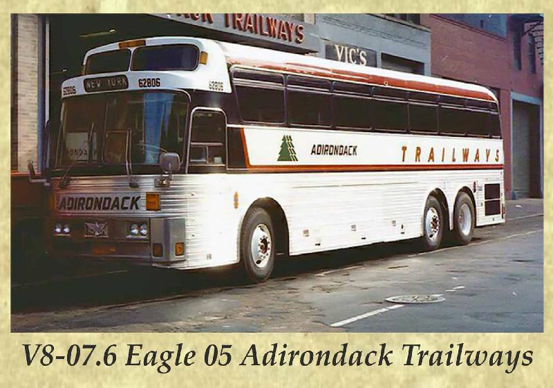 V8-07.6 Eagle 05 Adirondack Trailways