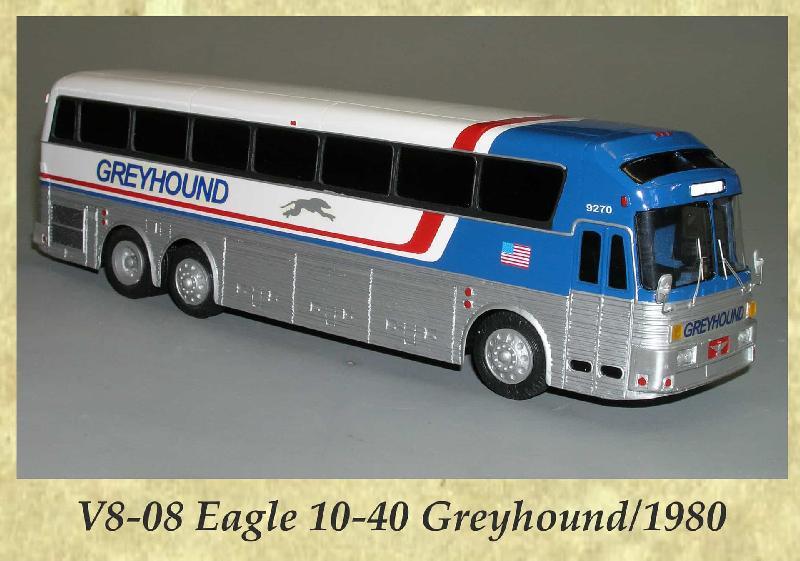 V8-08 Eagle 10-40 Greyhound 1980