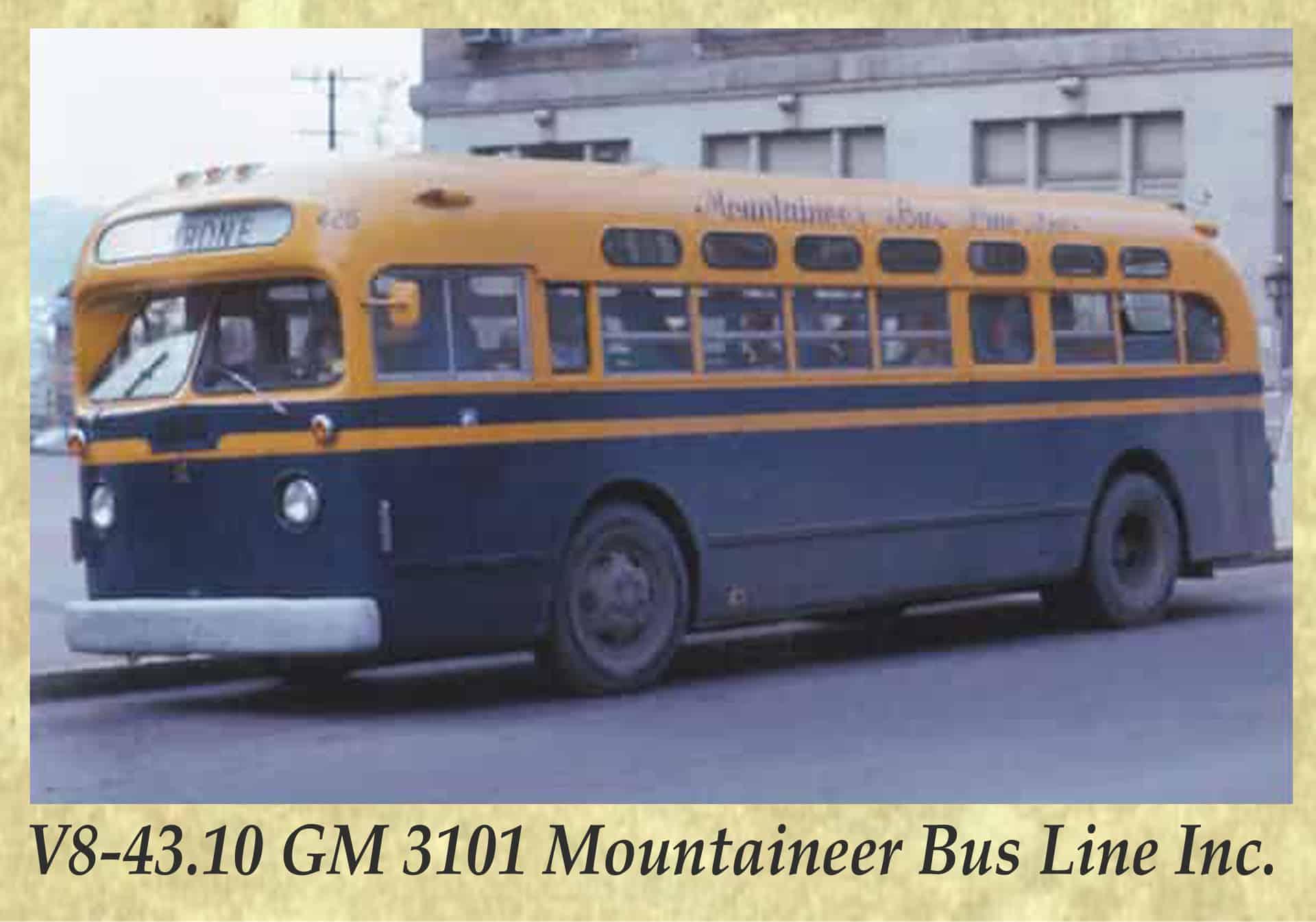 V8-43.10 GM 3101 Mountaineer Bus Line Inc.