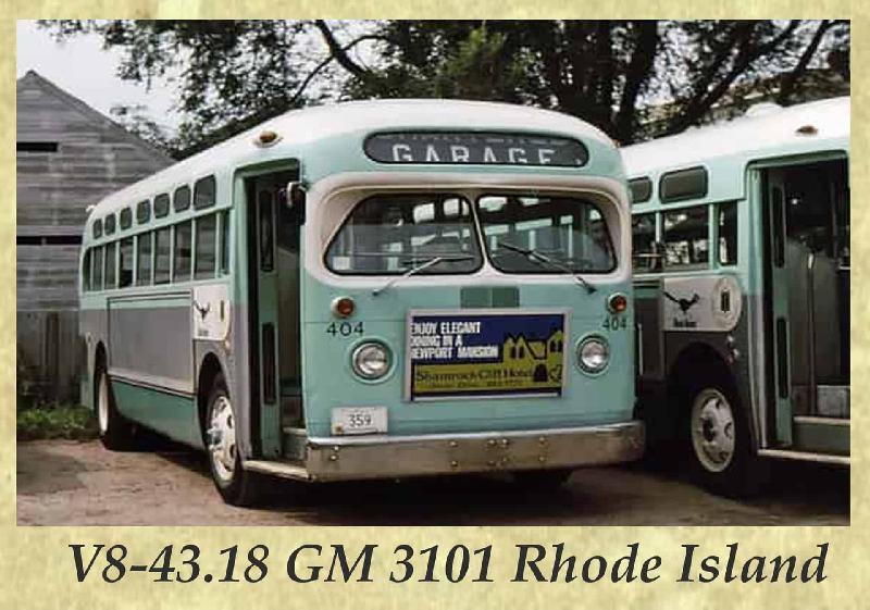 V8-43.18 GM 3101 Rhode Island