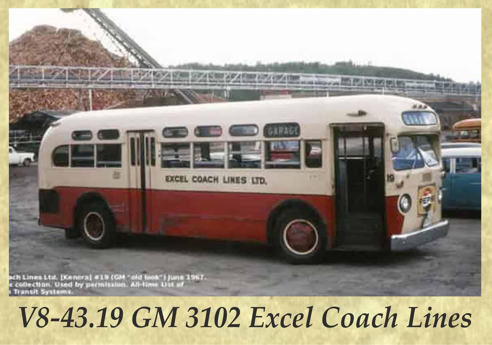 V8-43.19 GM 3102 Excel Coach Lines