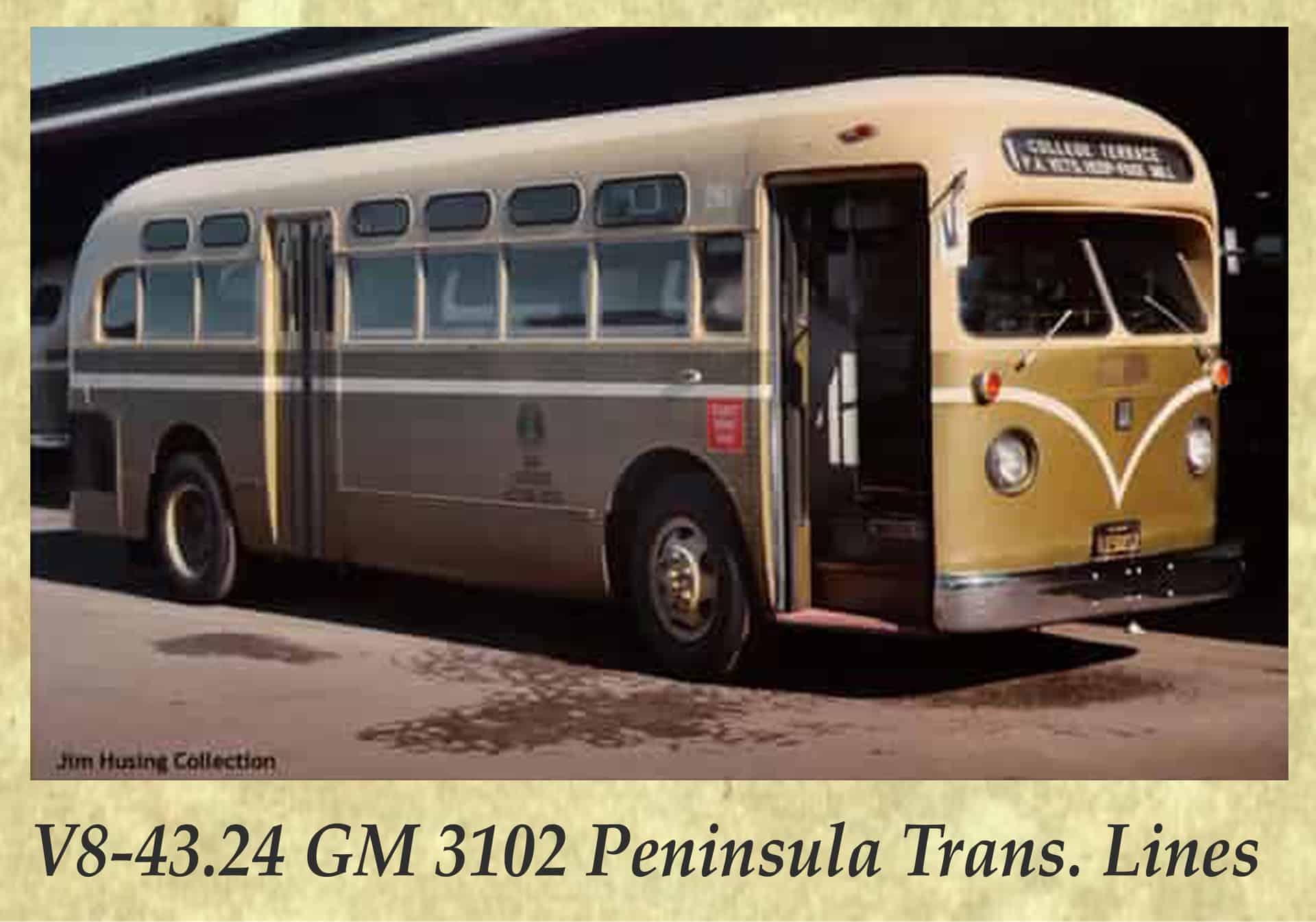 V8-43.24 GM 3102 Peninsula Trans. Lines