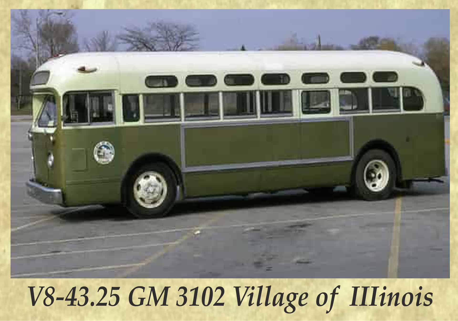 V8-43.25 GM 3102 Village of IIIinois