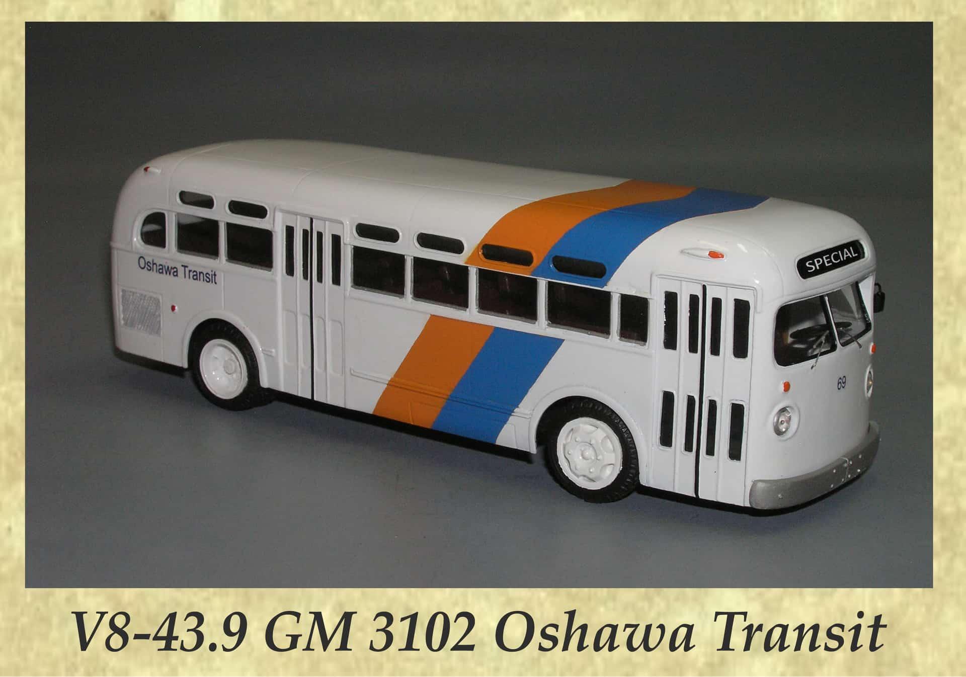 V8-43.9 GM 3102 Oshawa Transit