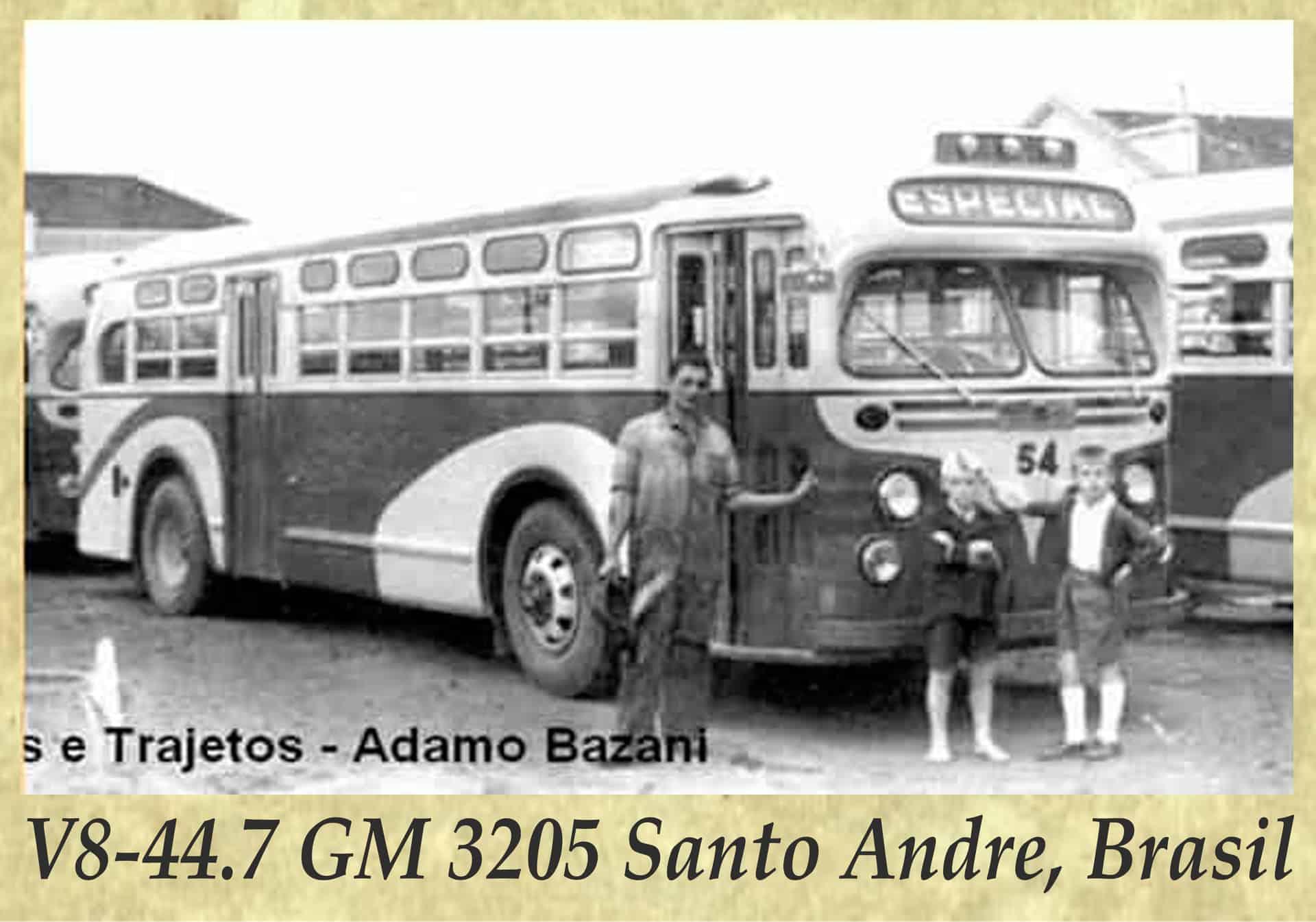 V8-44.7 GM 3205 Santo Andre, Brasil