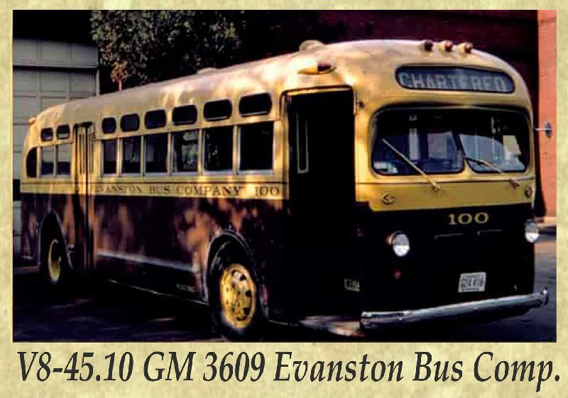 V8-45.10 GM 3609 Evanston Bus Comp.