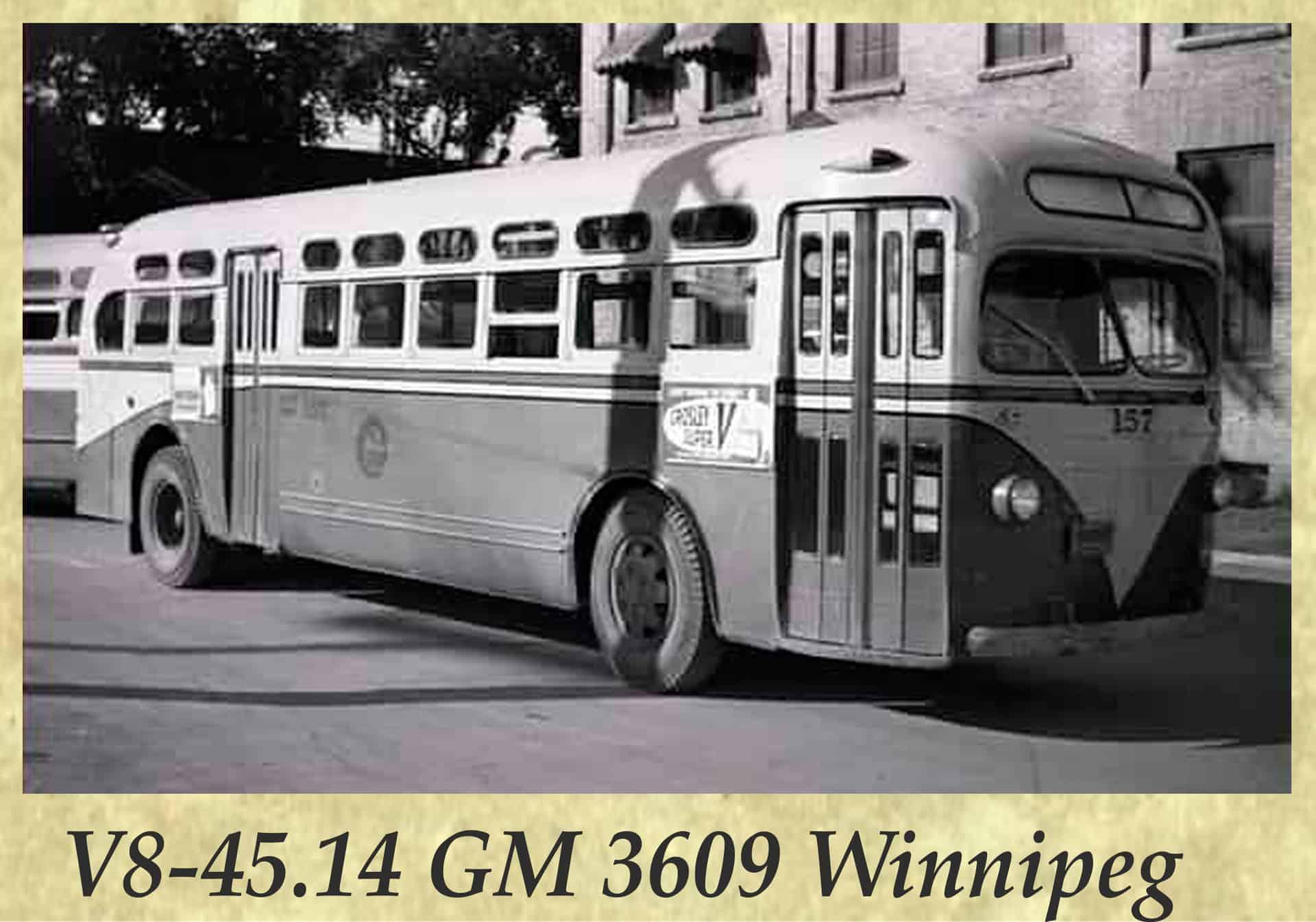 V8-45.14 GM 3609 Winnipeg