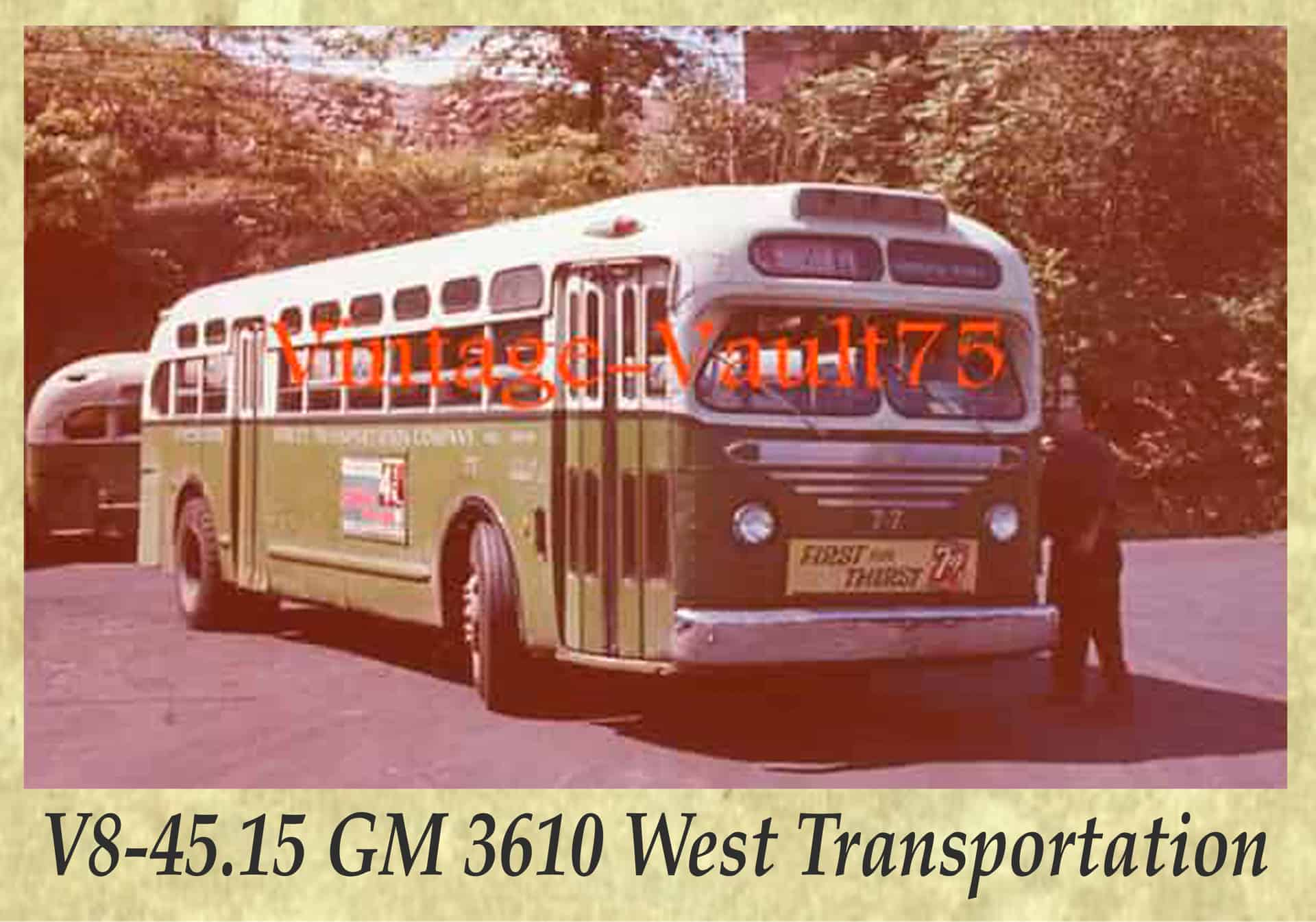 V8-45.15 GM 3610 West Transportation