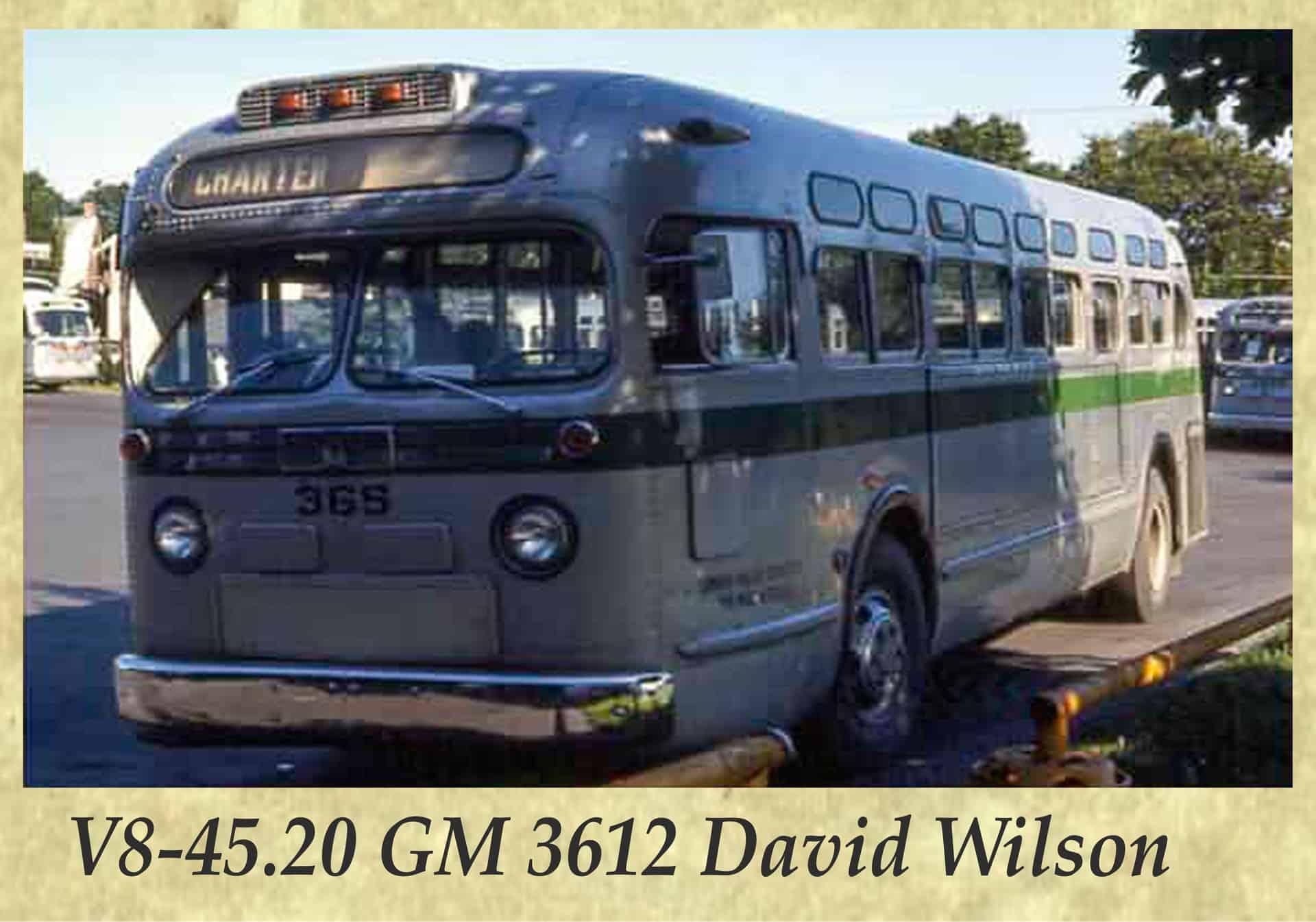 V8-45.20 GM 3612 David Wilson