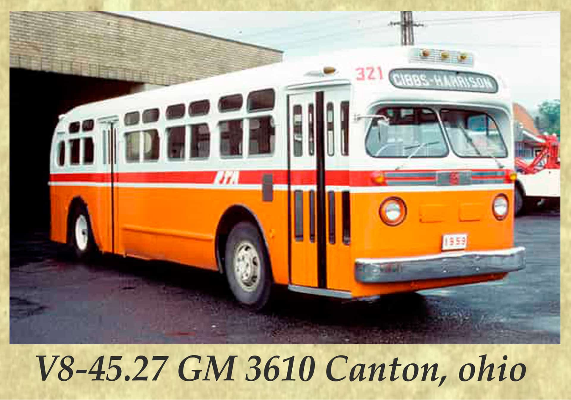 V8-45.27 GM 3610 Canton, ohio