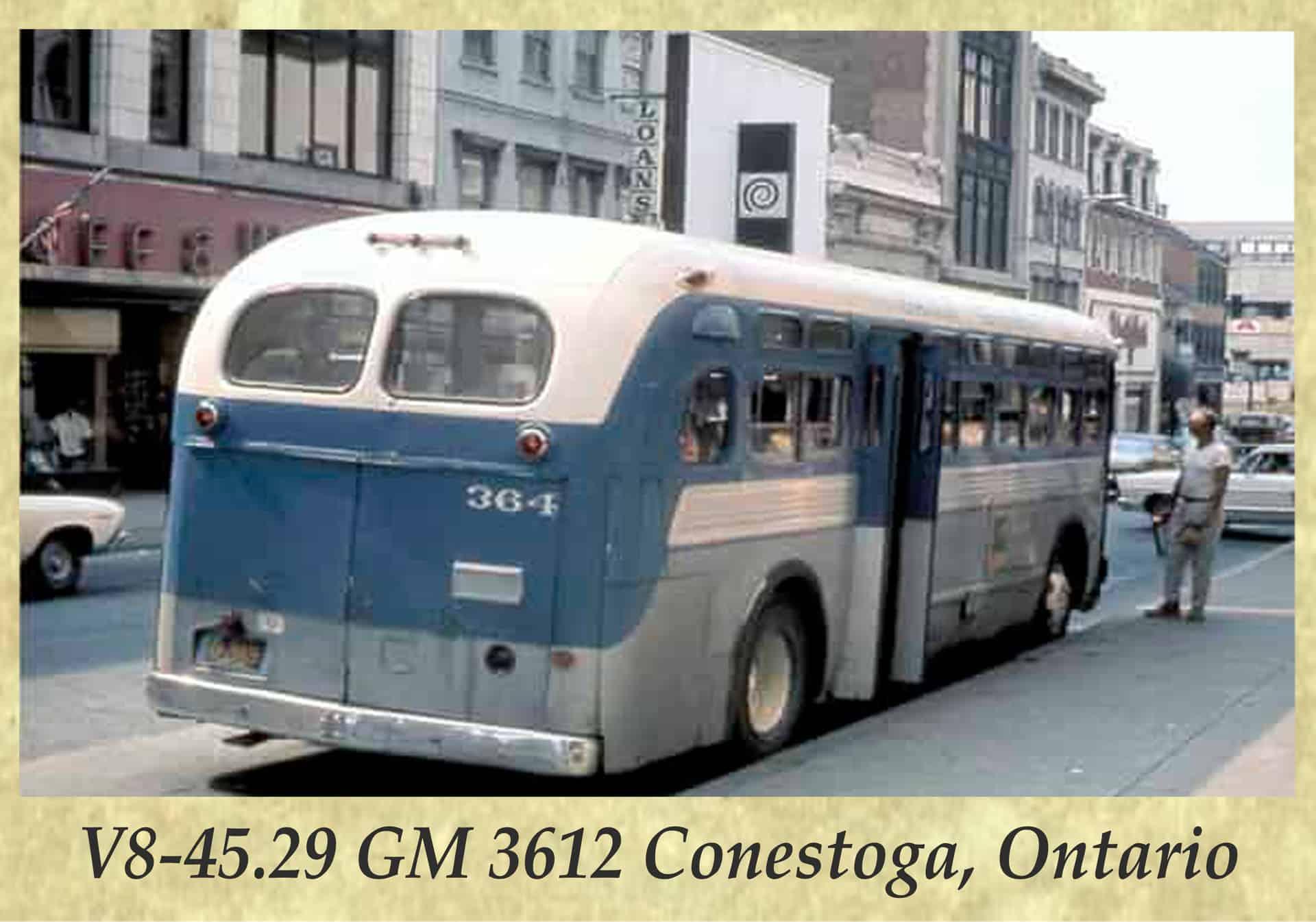 V8-45.29 GM 3612 Conestoga, Ontario