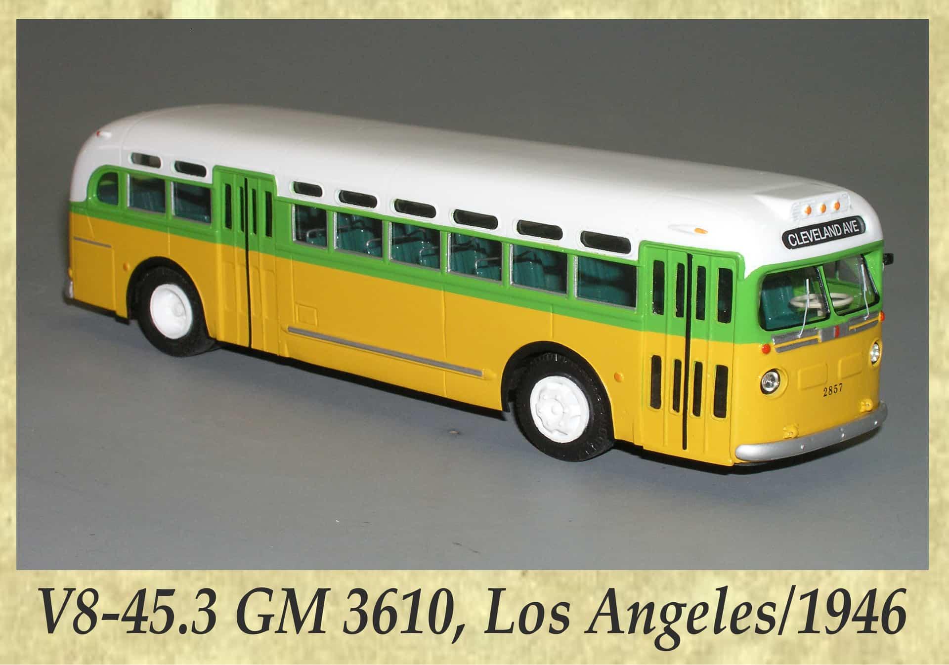 V8-45.3 GM 3610, Los Angeles 1946