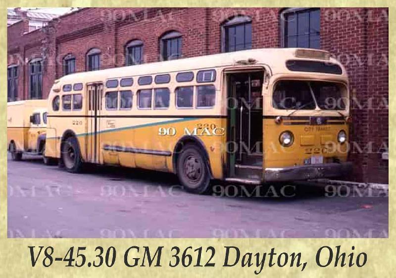 V8-45.30 GM 3612 Dayton, Ohio