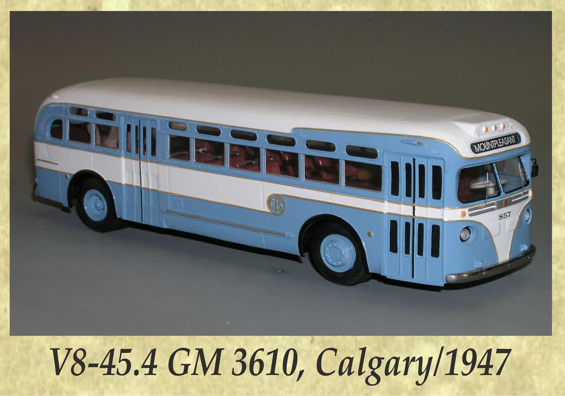 V8-45.4 GM 3610, Calgary 1947