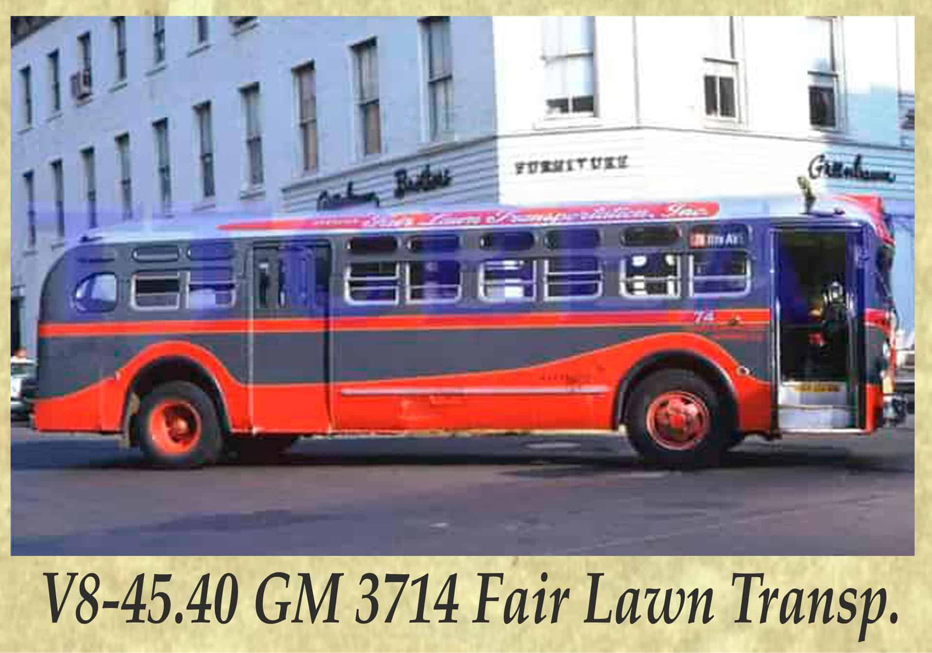 V8-45.40 GM 3714 Fair Lawn Transp.