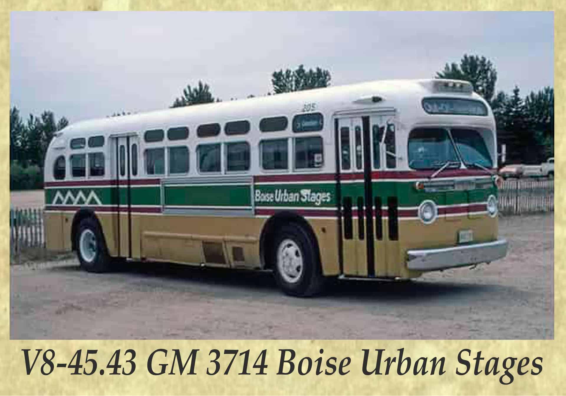 V8-45.43 GM 3714 Boise Urban Stages