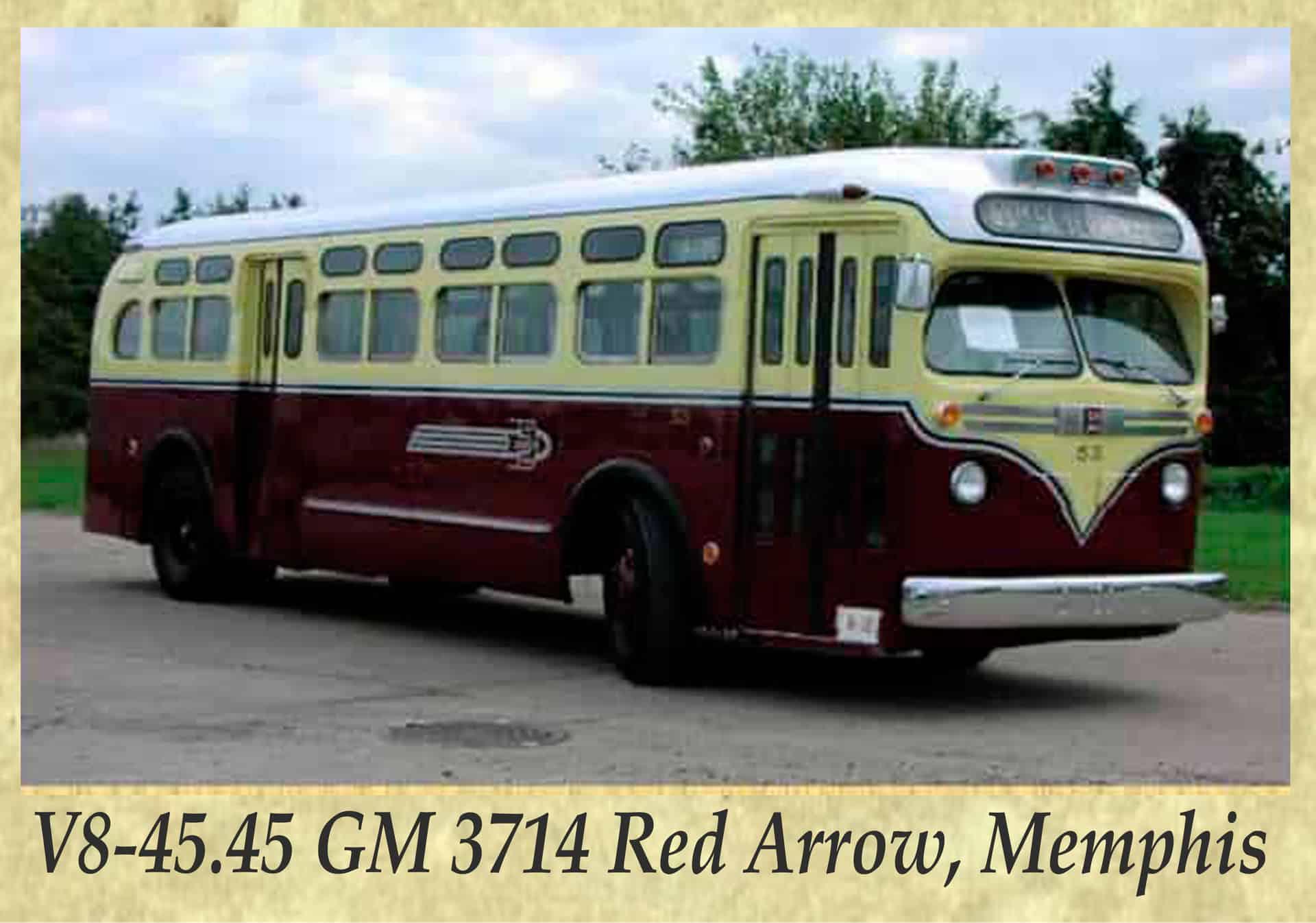 V8-45.45 GM 3714 Red Arrow, Memphis