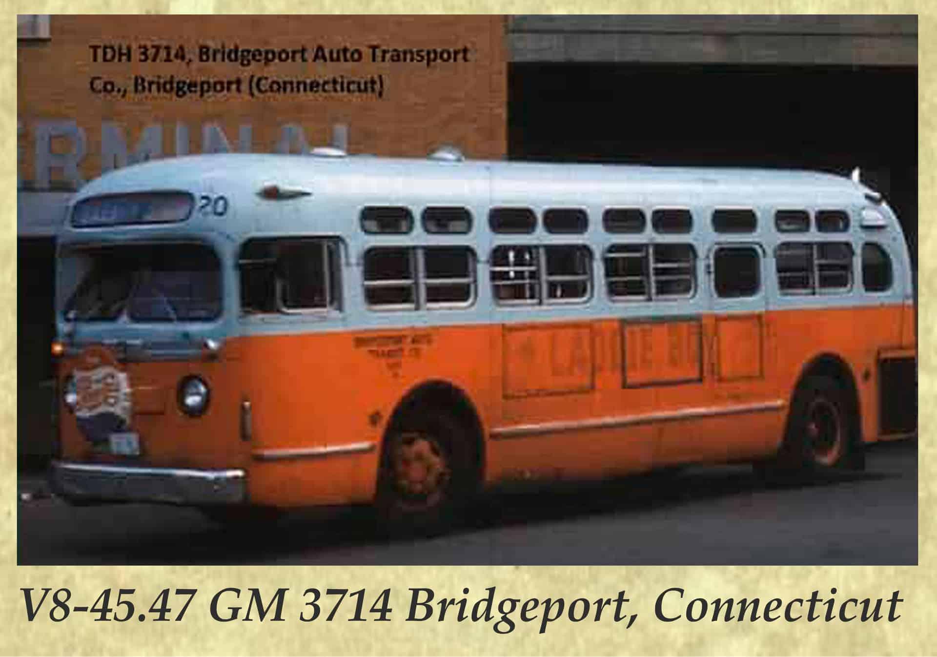 V8-45.47 GM 3714 Bridgeport, Connecticut