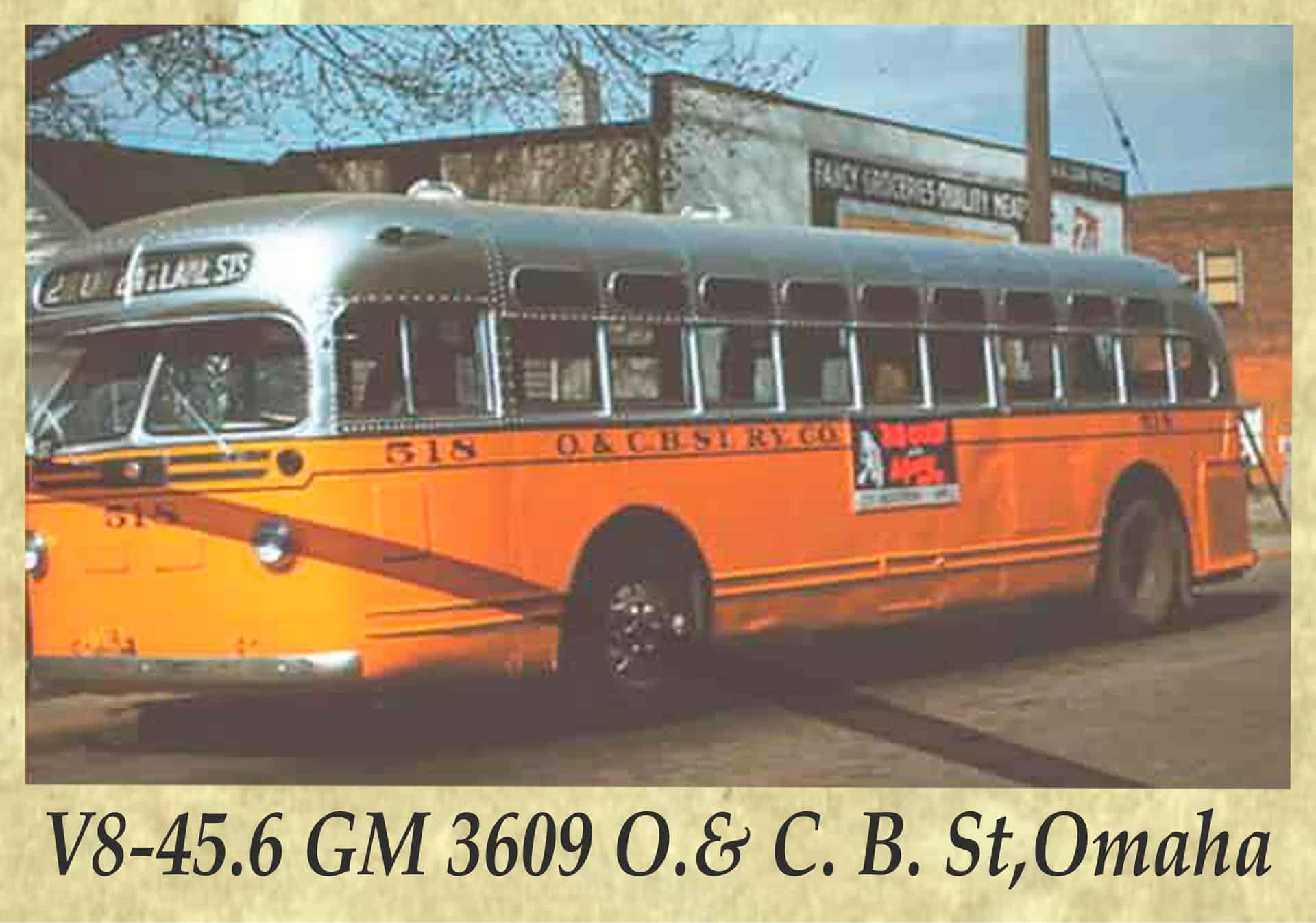 V8-45.6 GM 3609 O.& C. B. St,Omaha