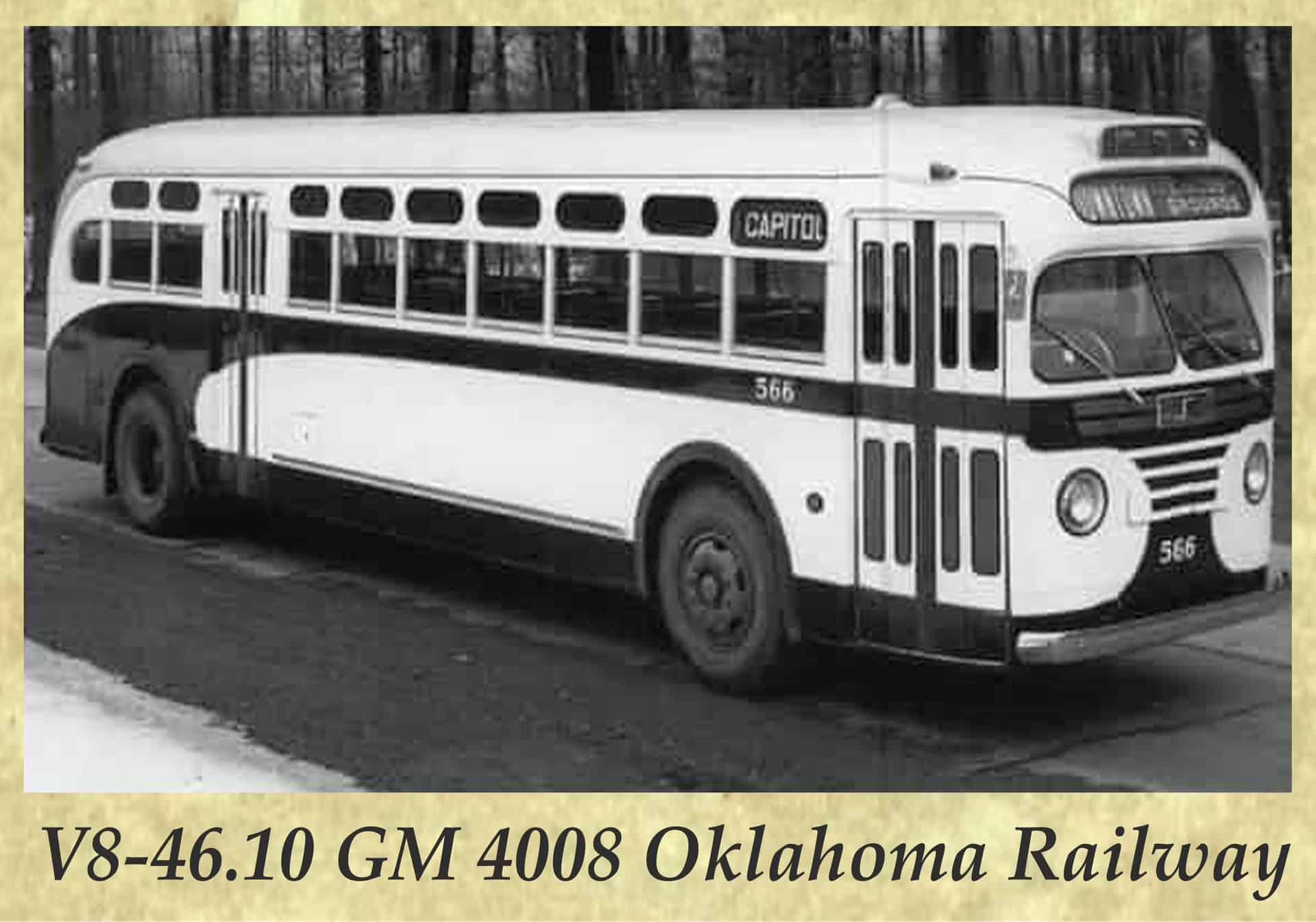 V8-46.10 GM 4008 Oklahoma Railway