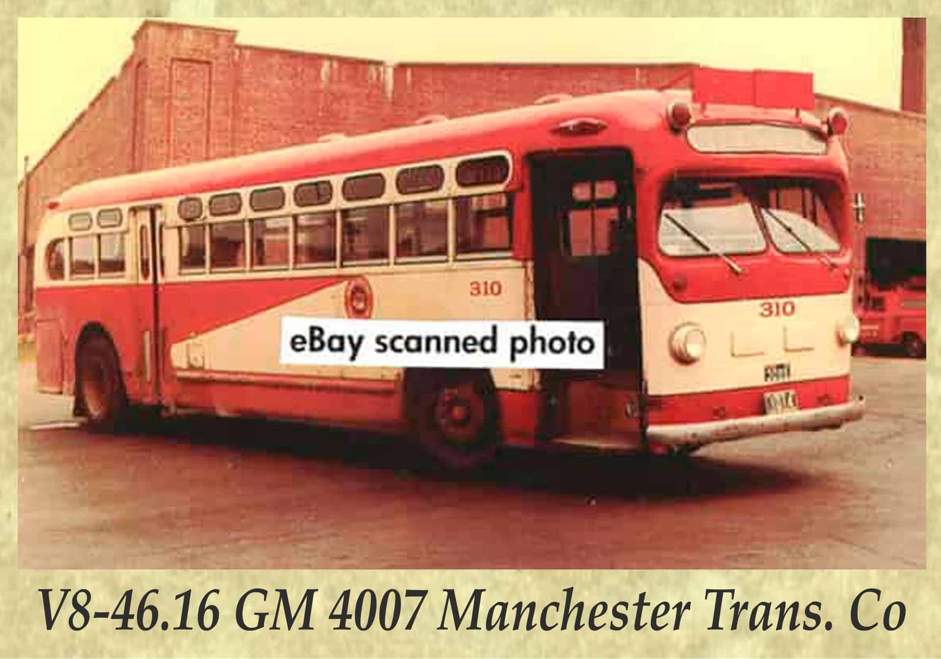 V8-46.16 GM 4007 Manchester Trans. Co