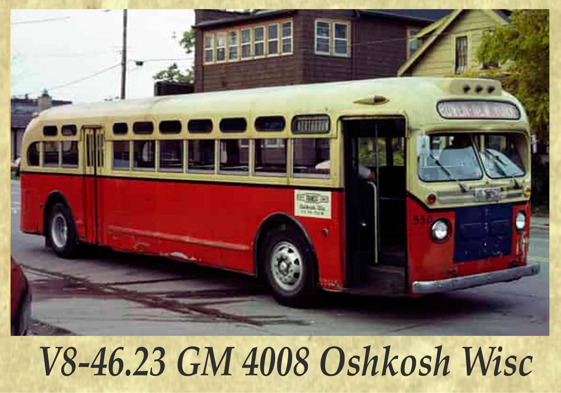 V8-46.23 GM 4008 Oshkosh Wisc