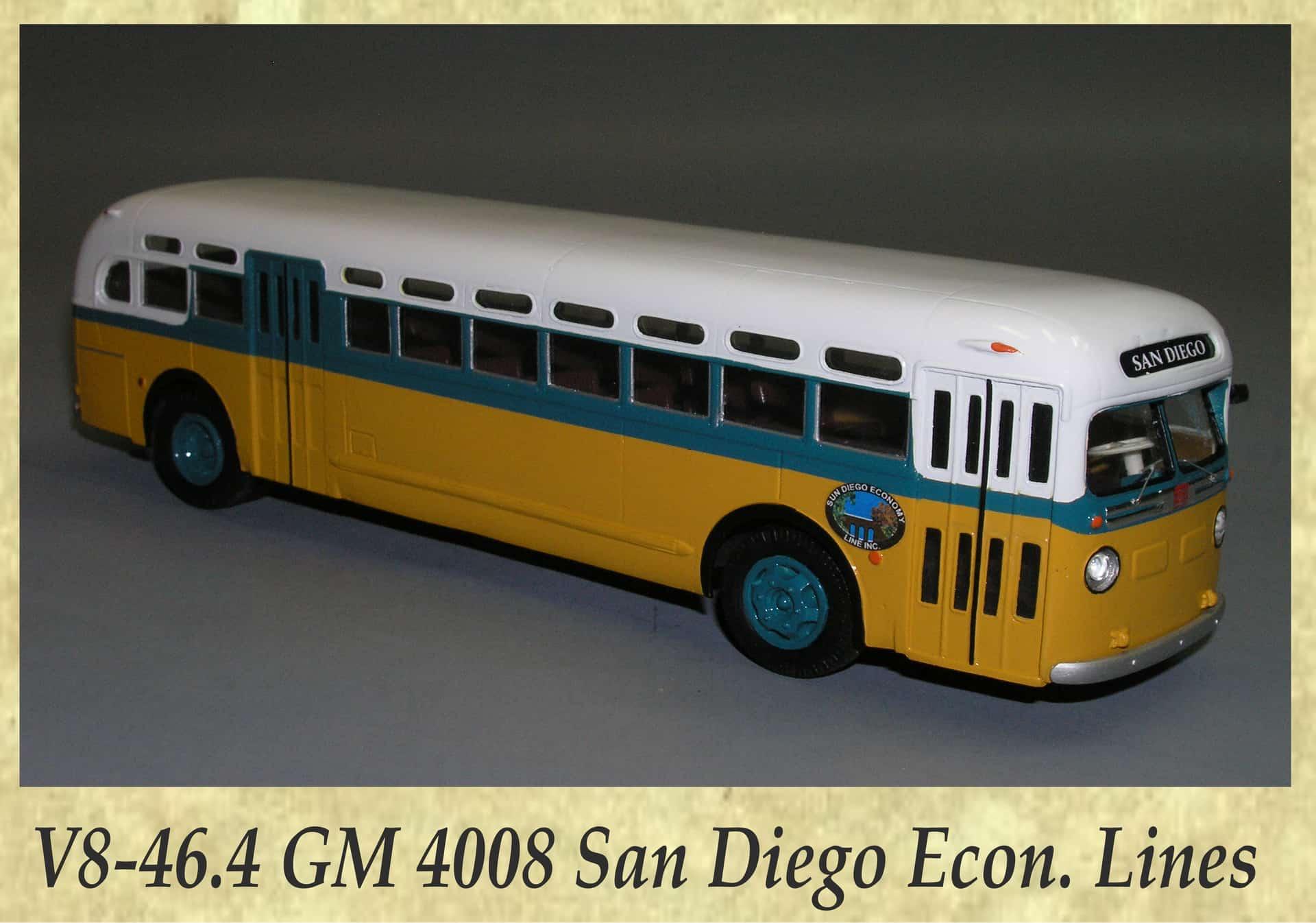 V8-46.4 GM 4008 San Diego Econ. Lines