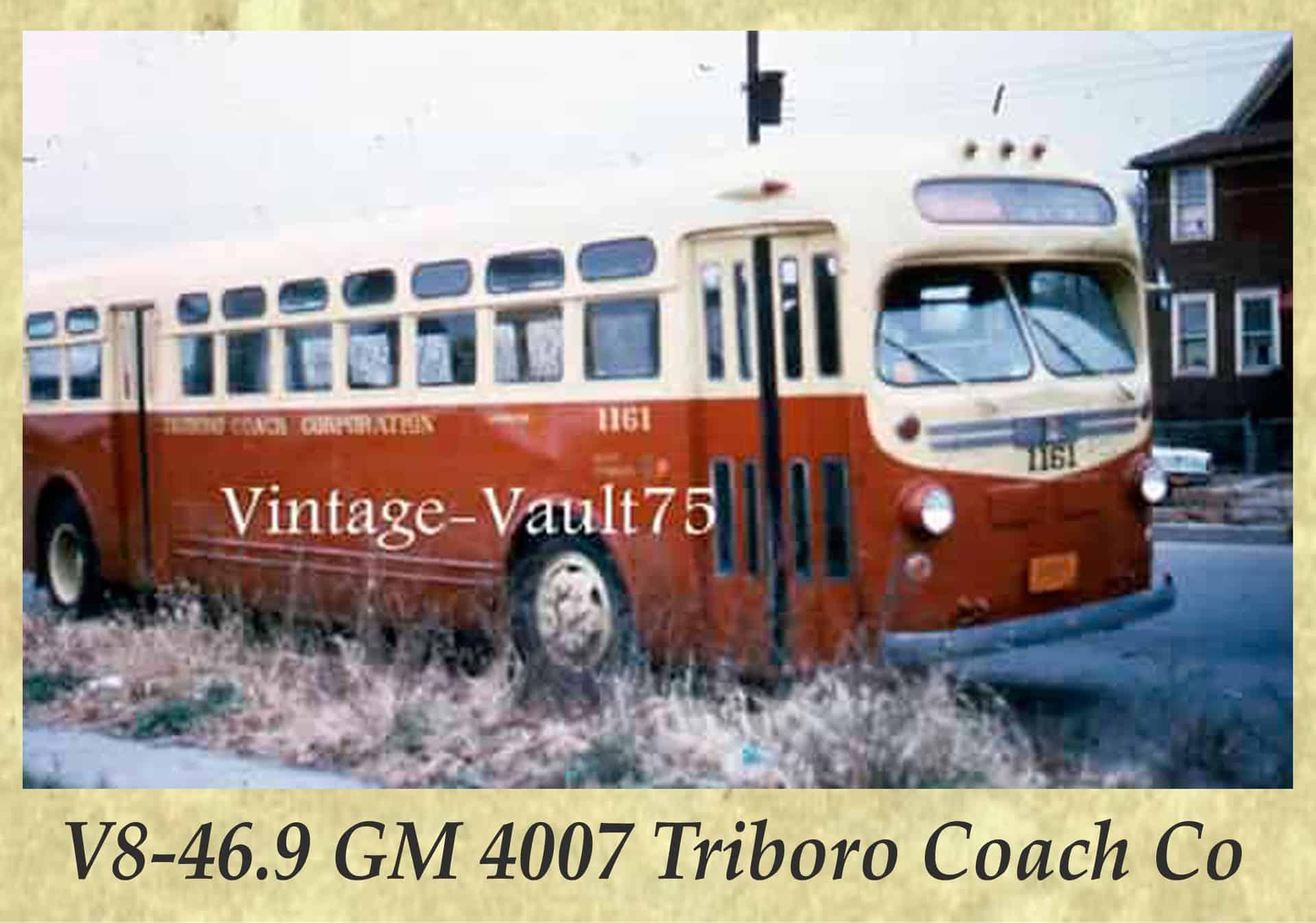 V8-46.9 GM 4007 Triboro Coach Co