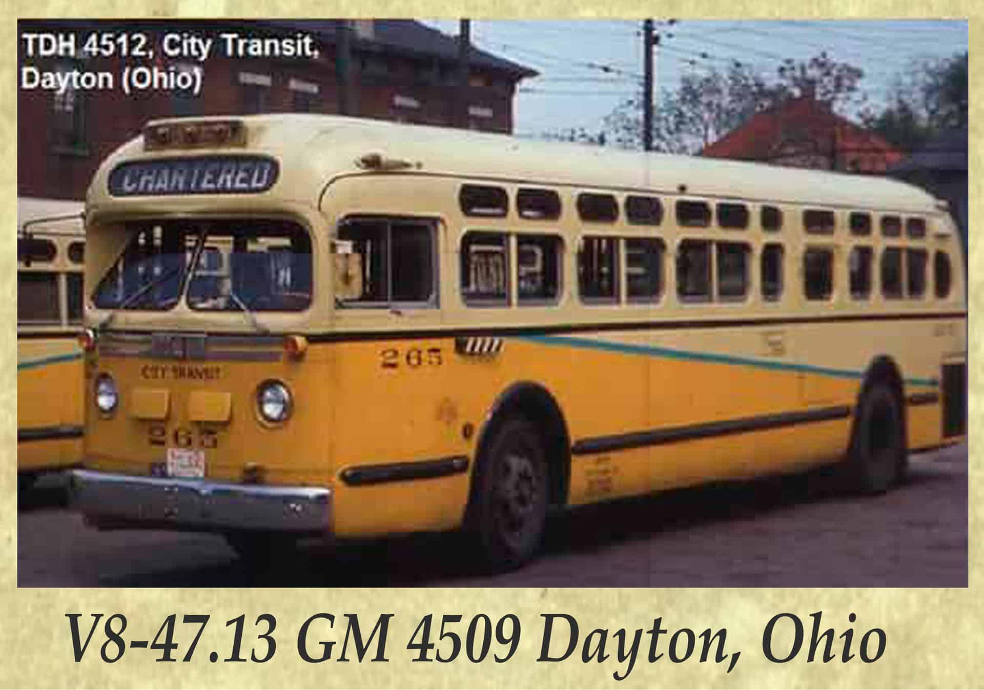 V8-47.13 GM 4509 Dayton, Ohio