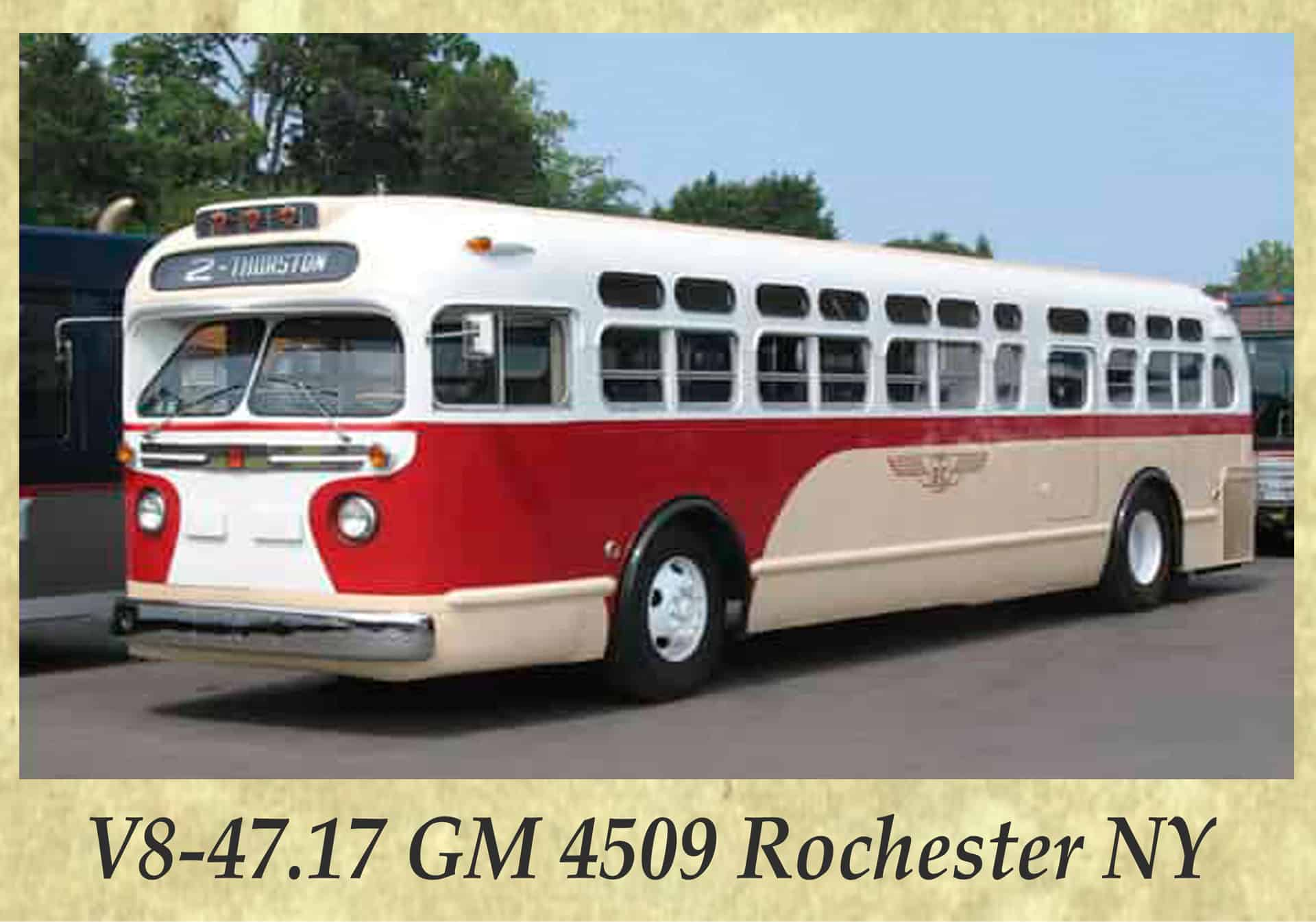 V8-47.17 GM 4509 Rochester NY