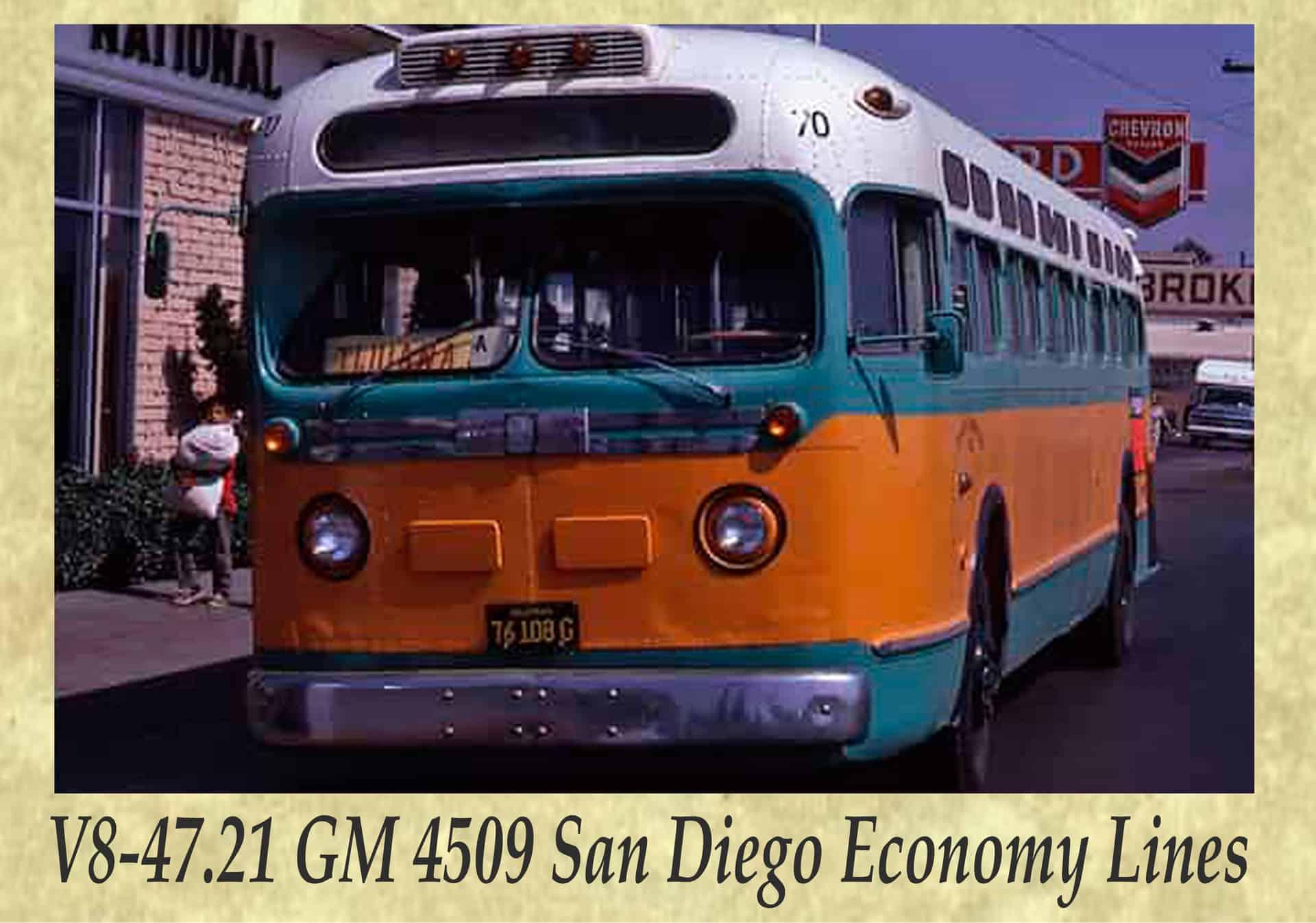 V8-47.21 GM 4509 San Diego Economy Lines