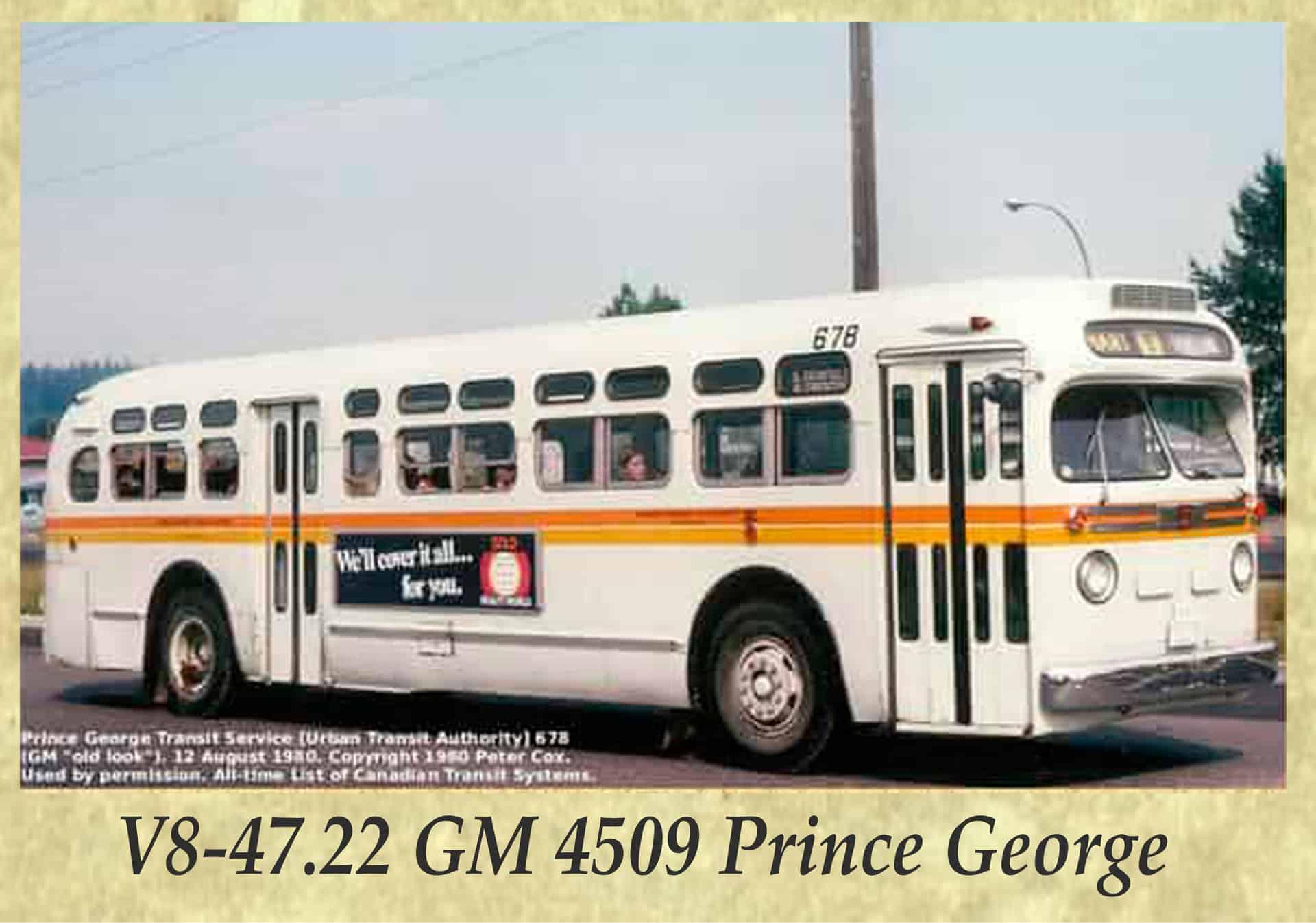 V8-47.22 GM 4509 Prince George