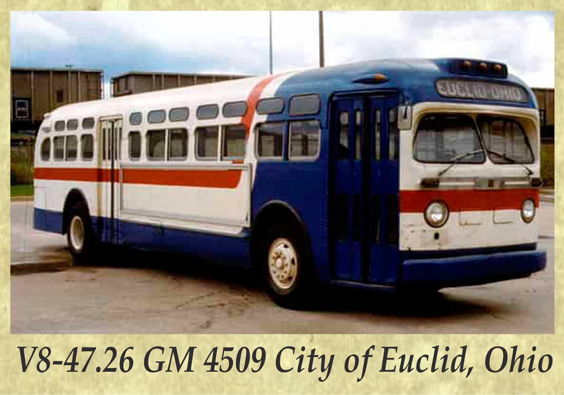 V8-47.26 GM 4509 City of Euclid, Ohio