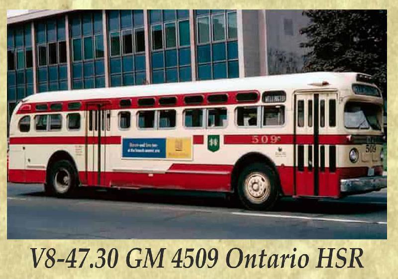 V8-47.30 GM 4509 Ontario HSR
