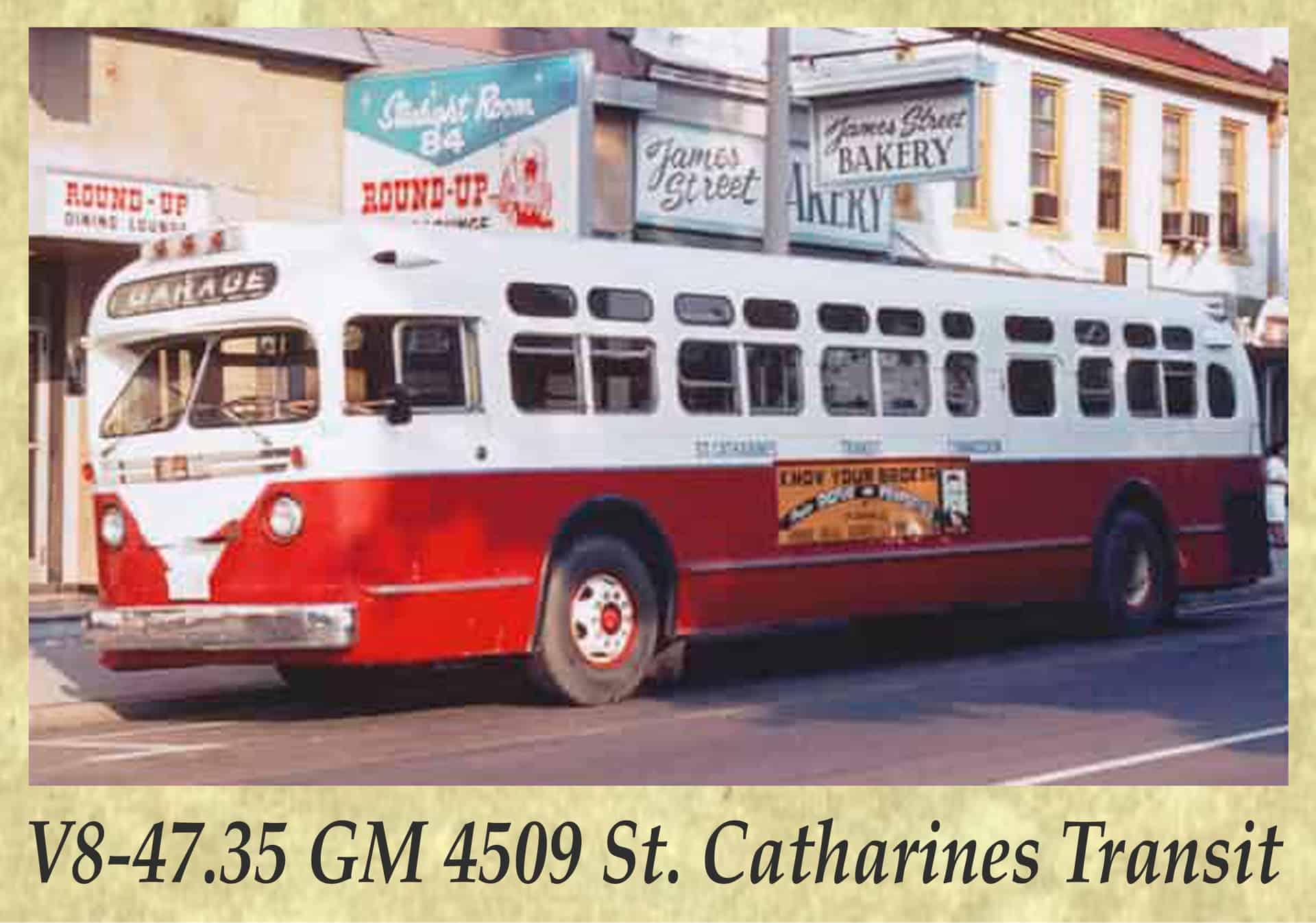 V8-47.35 GM 4509 St. Catharines Transit