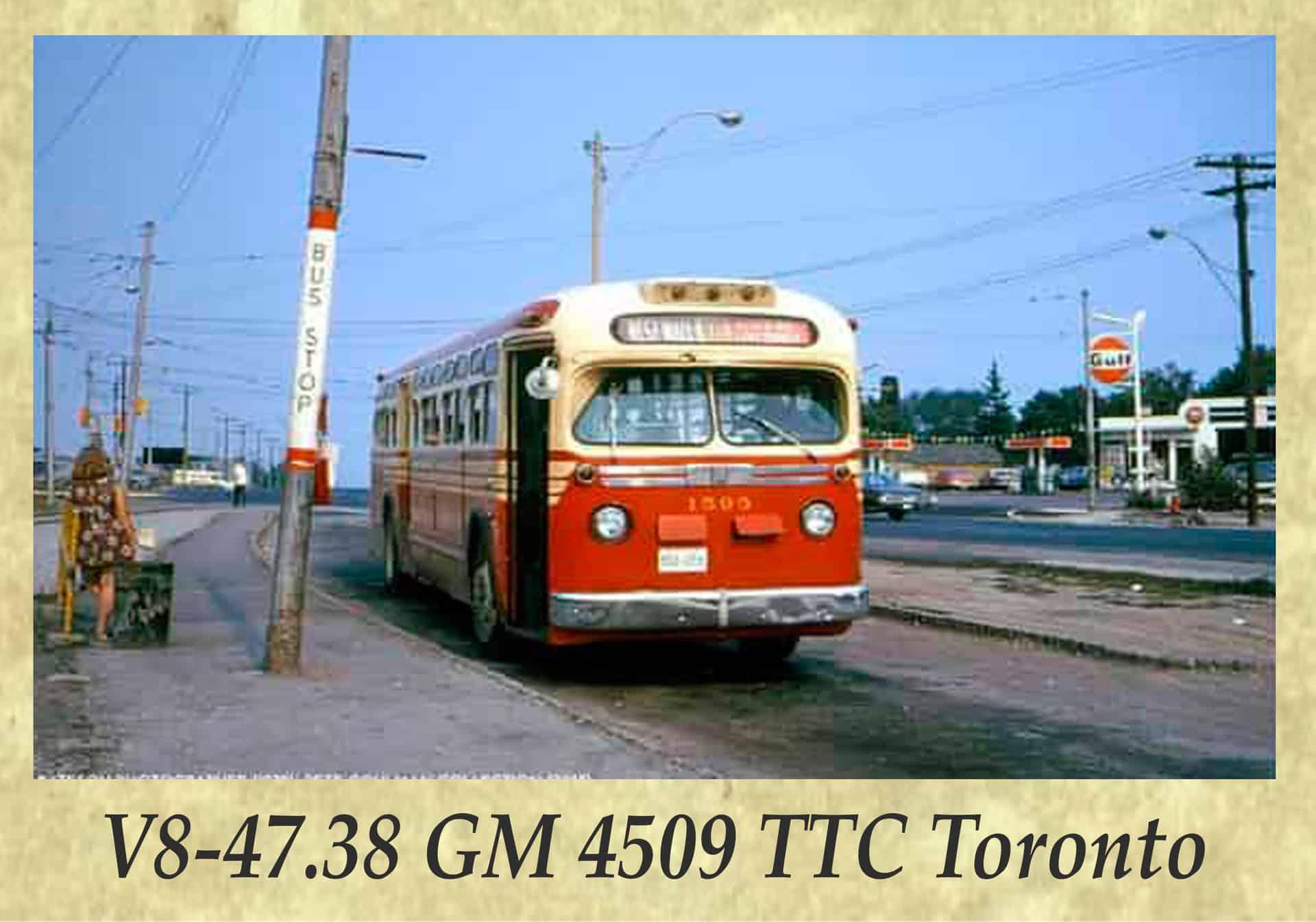 V8-47.38 GM 4509 TTC Toronto
