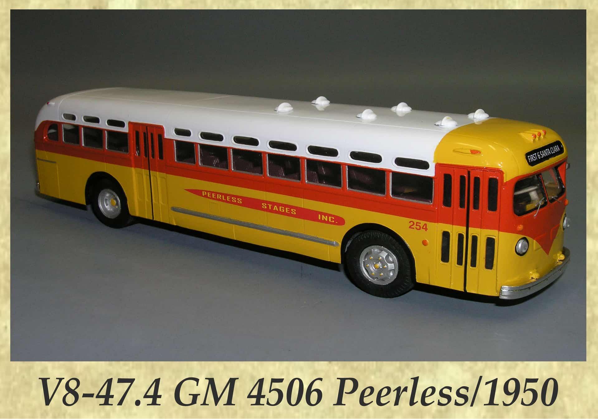V8-47.4 GM 4506 Peerless 1950