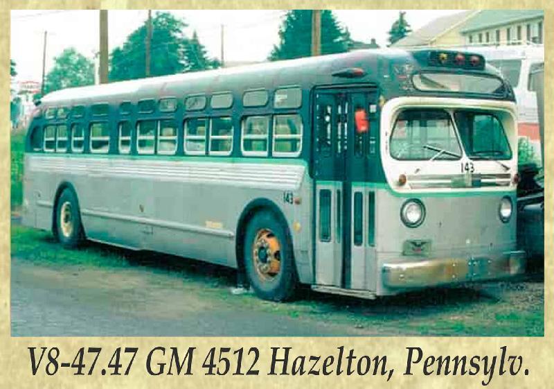 V8-47.47 GM 4512 Hazelton, Pennsylv.