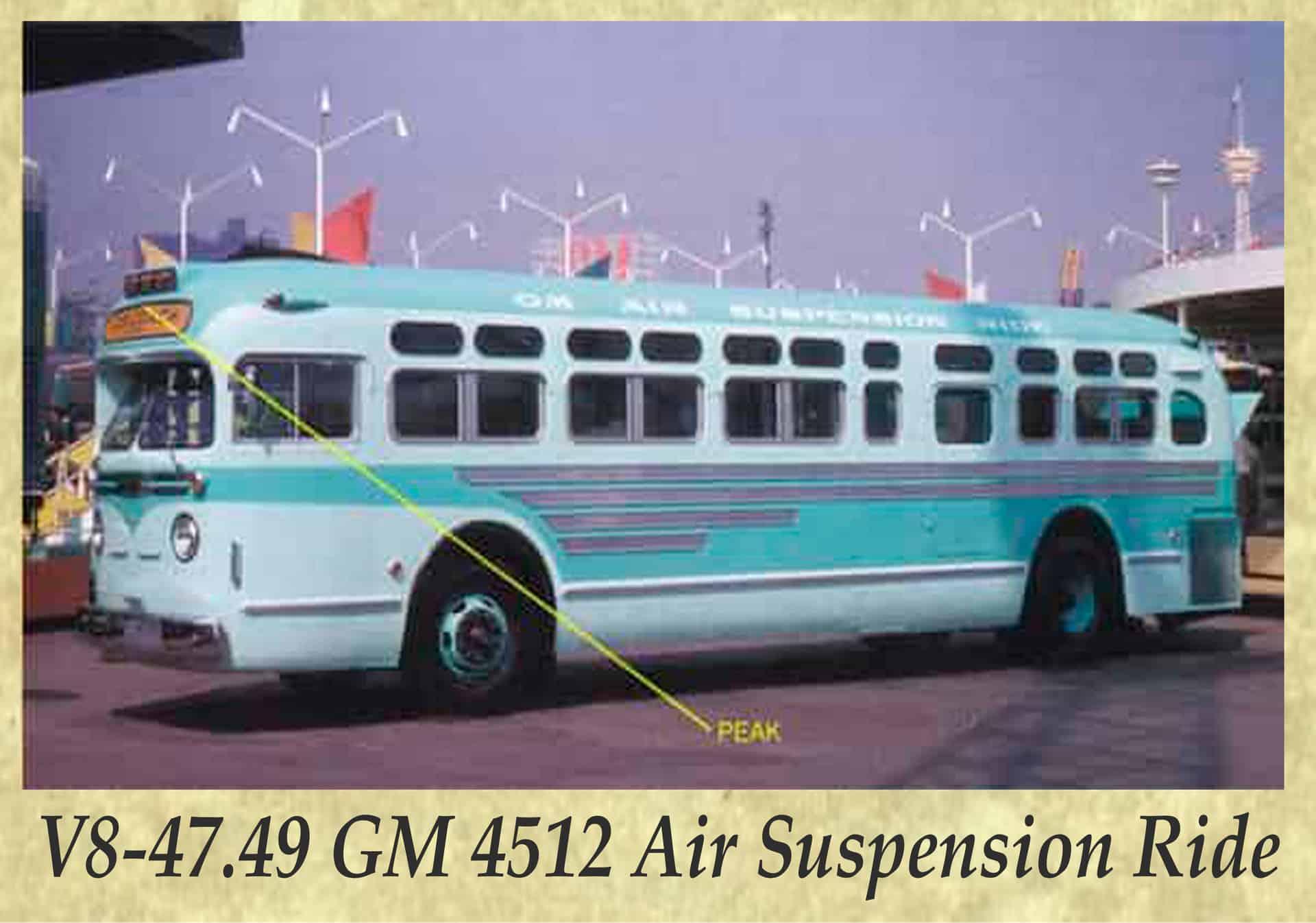 V8-47.49 GM 4512 Air Suspension Ride