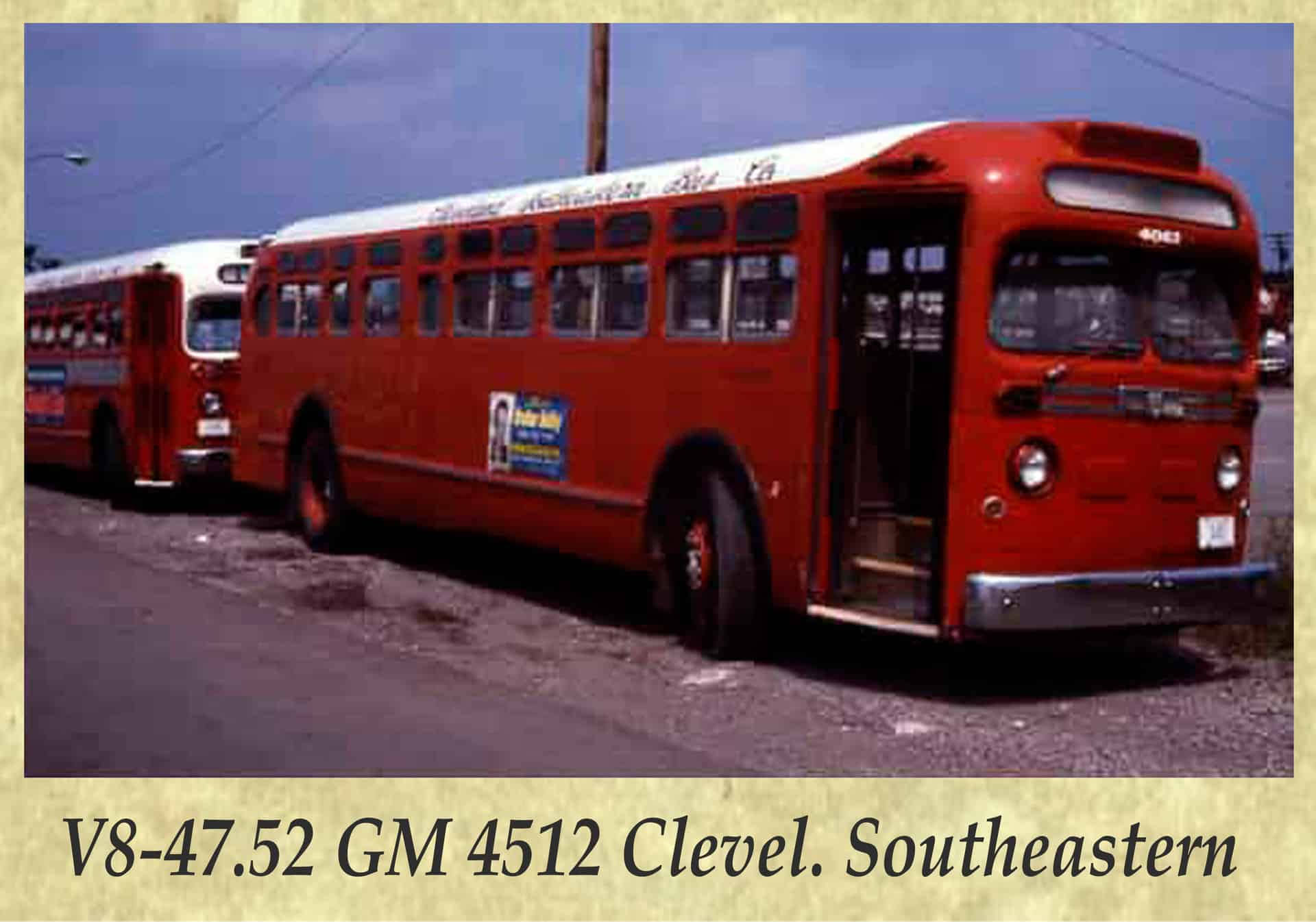 V8-47.52 GM 4512 Clevel. Southeastern