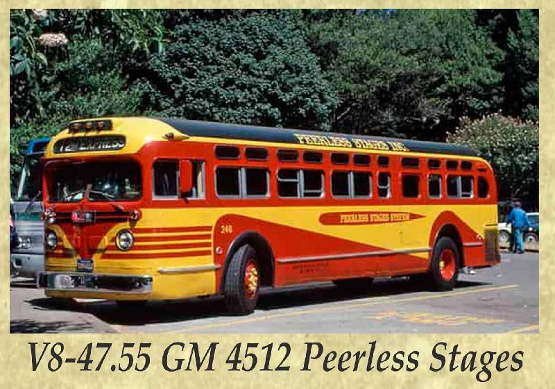 V8-47.55 GM 4512 Peerless Stages