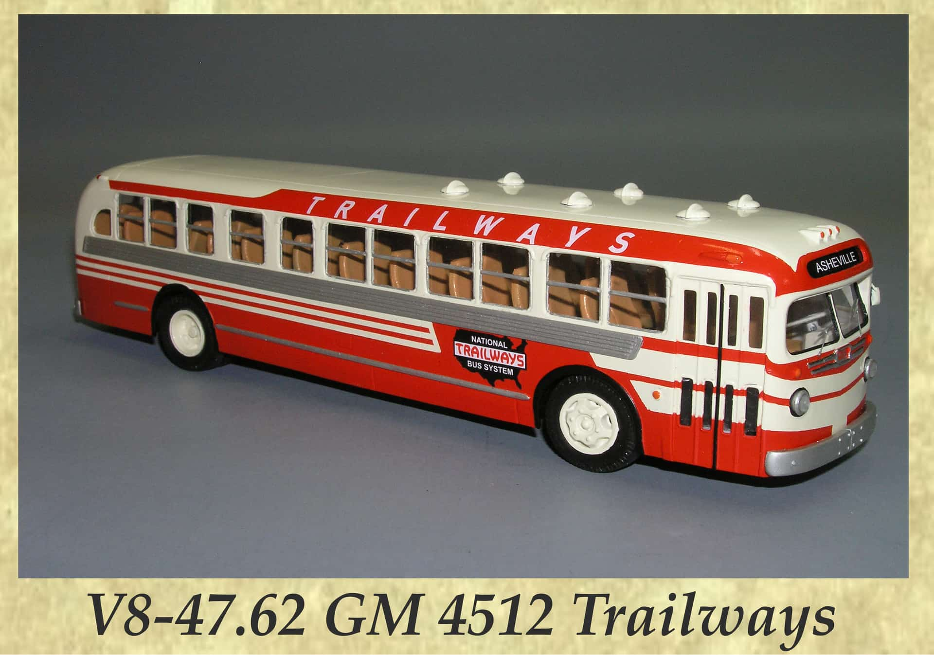 V8-47.62 GM 4512 Trailways