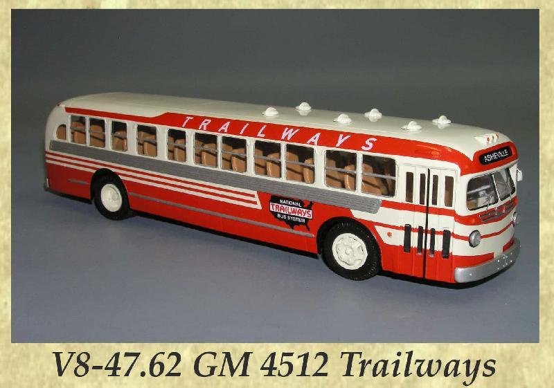 V8-47.62 GM 4512 Trailways