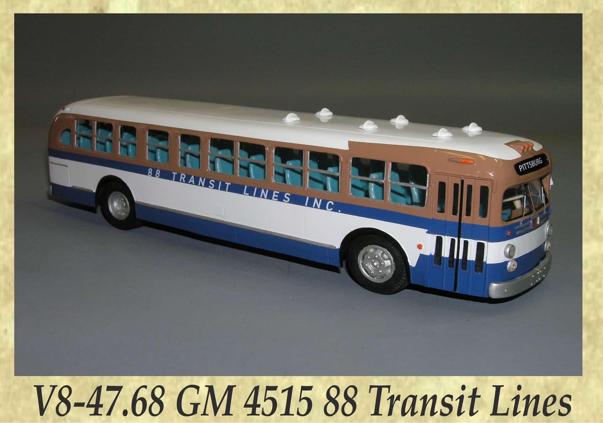 V8-47.68 GM 4515 88 Transit Lines