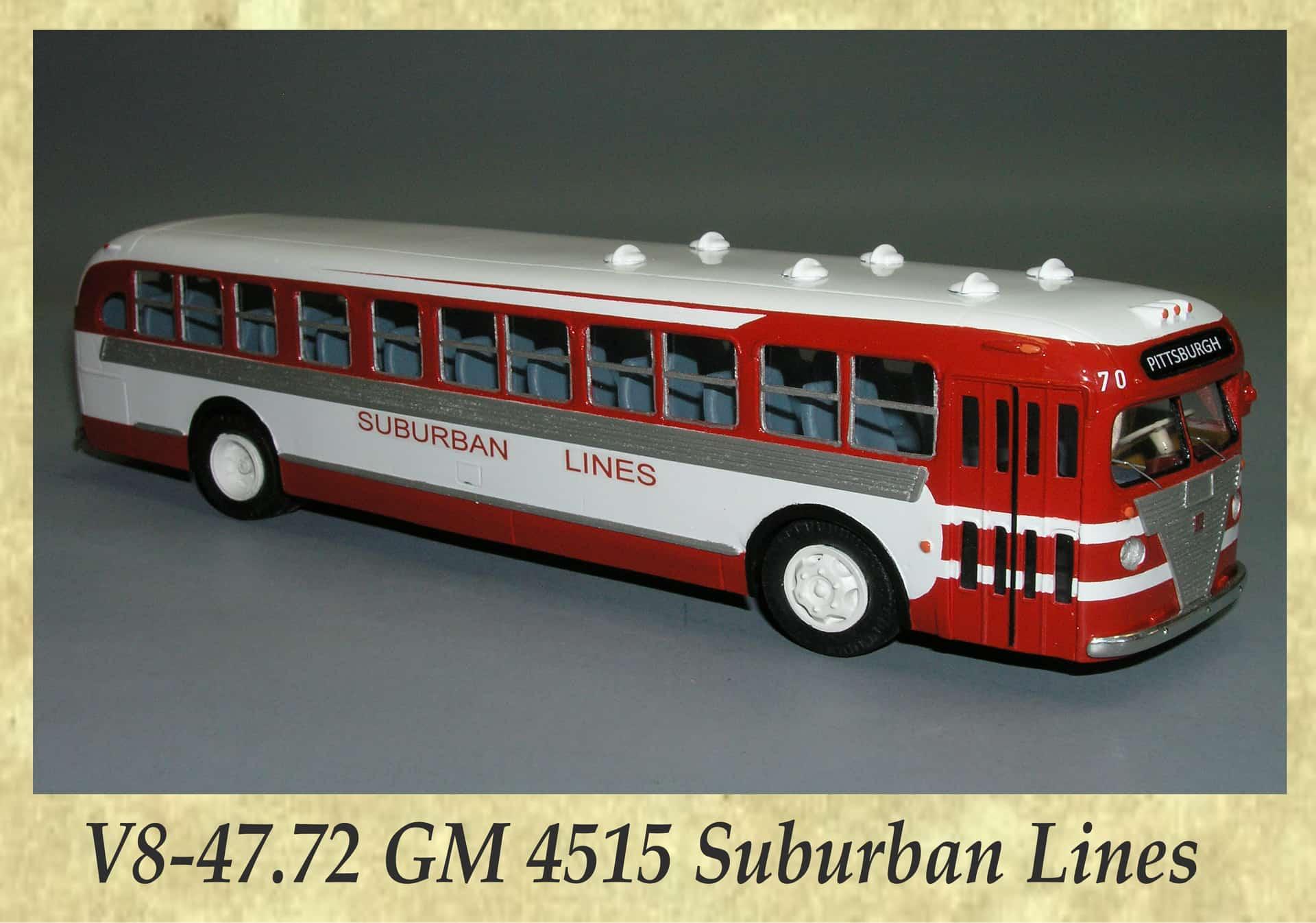 V8-47.72 GM 4515 Suburban Lines