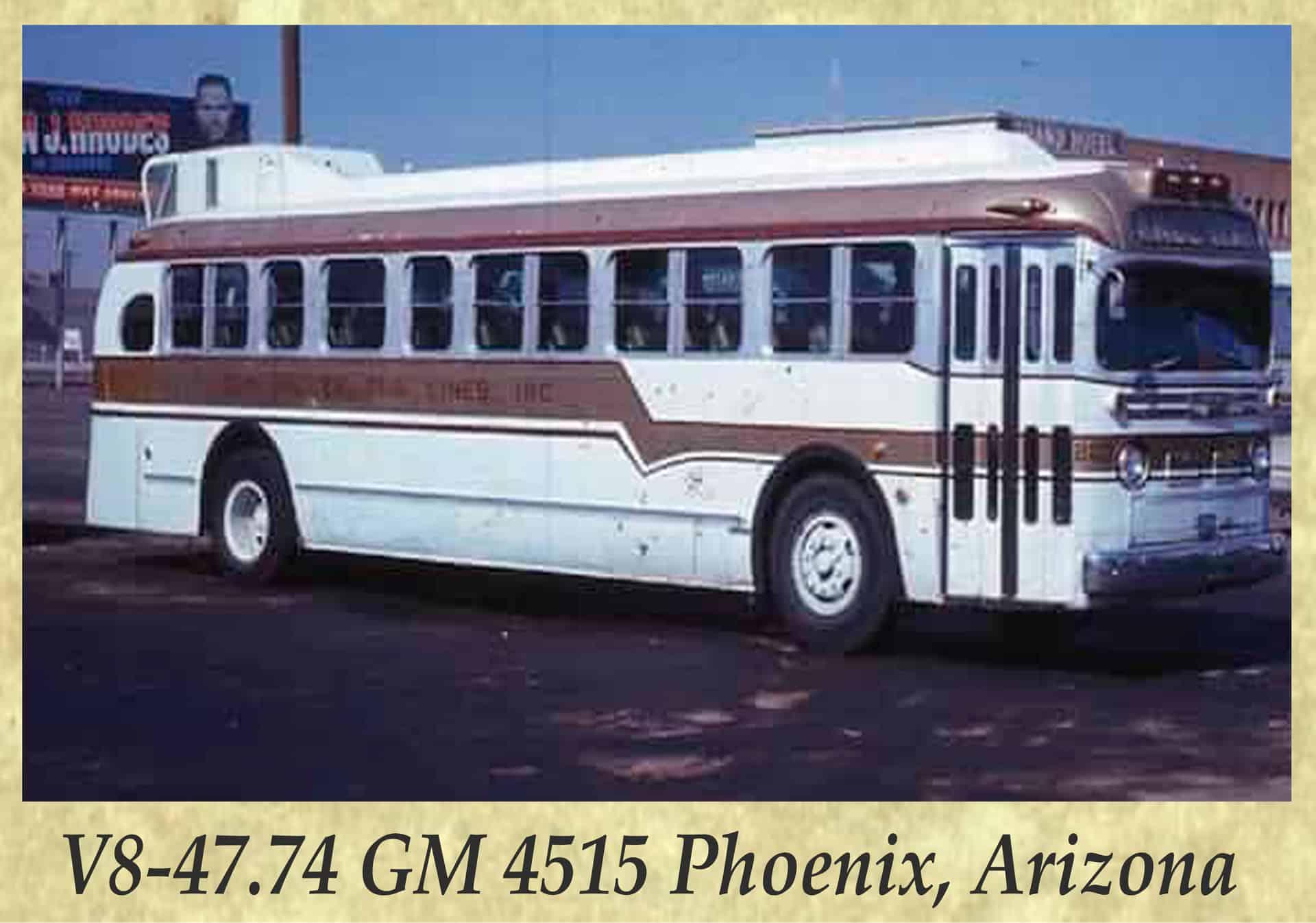 V8-47.74 GM 4515 Phoenix, Arizona